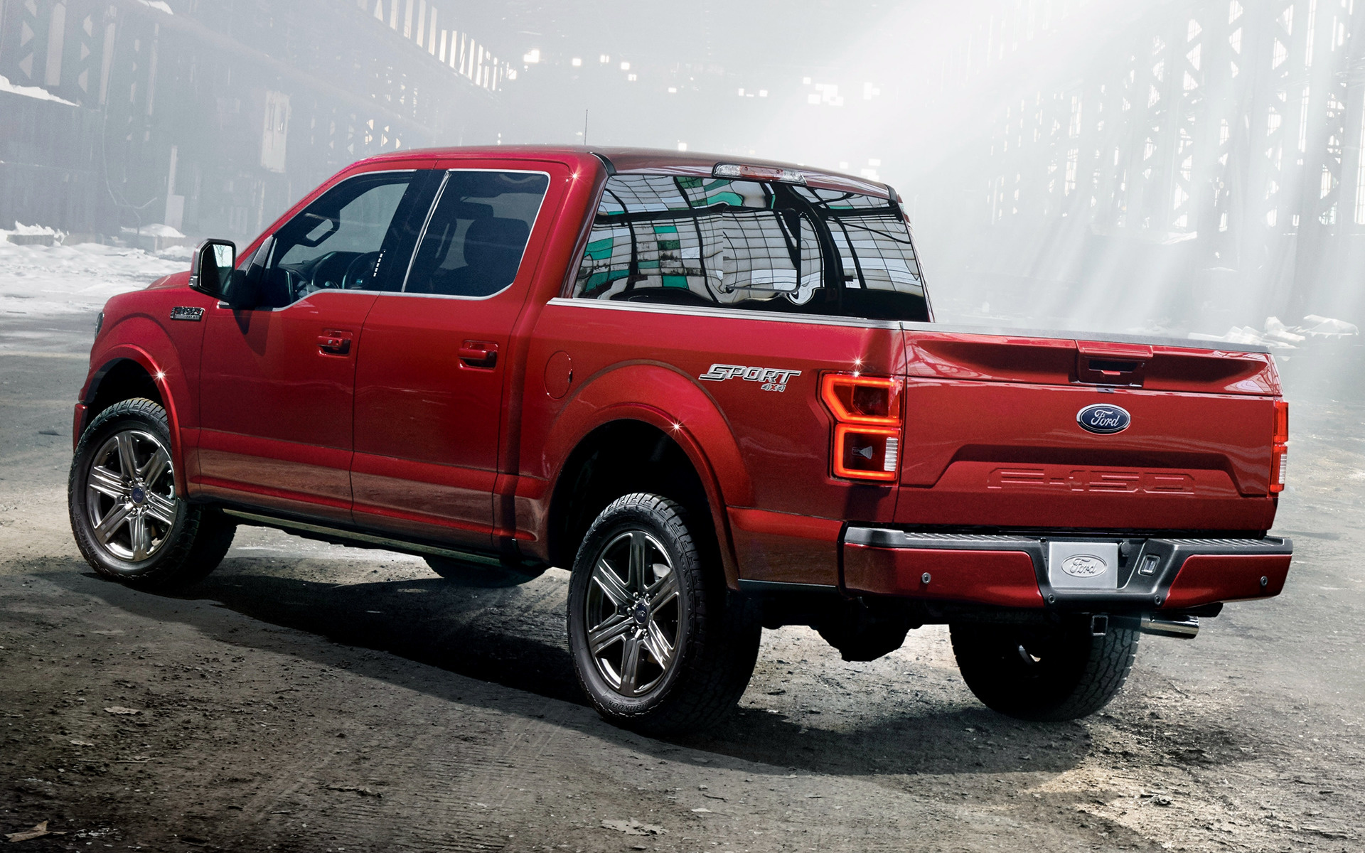 2018 Ford F-150 Lariat Sport SuperCrew - Wallpapers and HD Images | Car Pixel