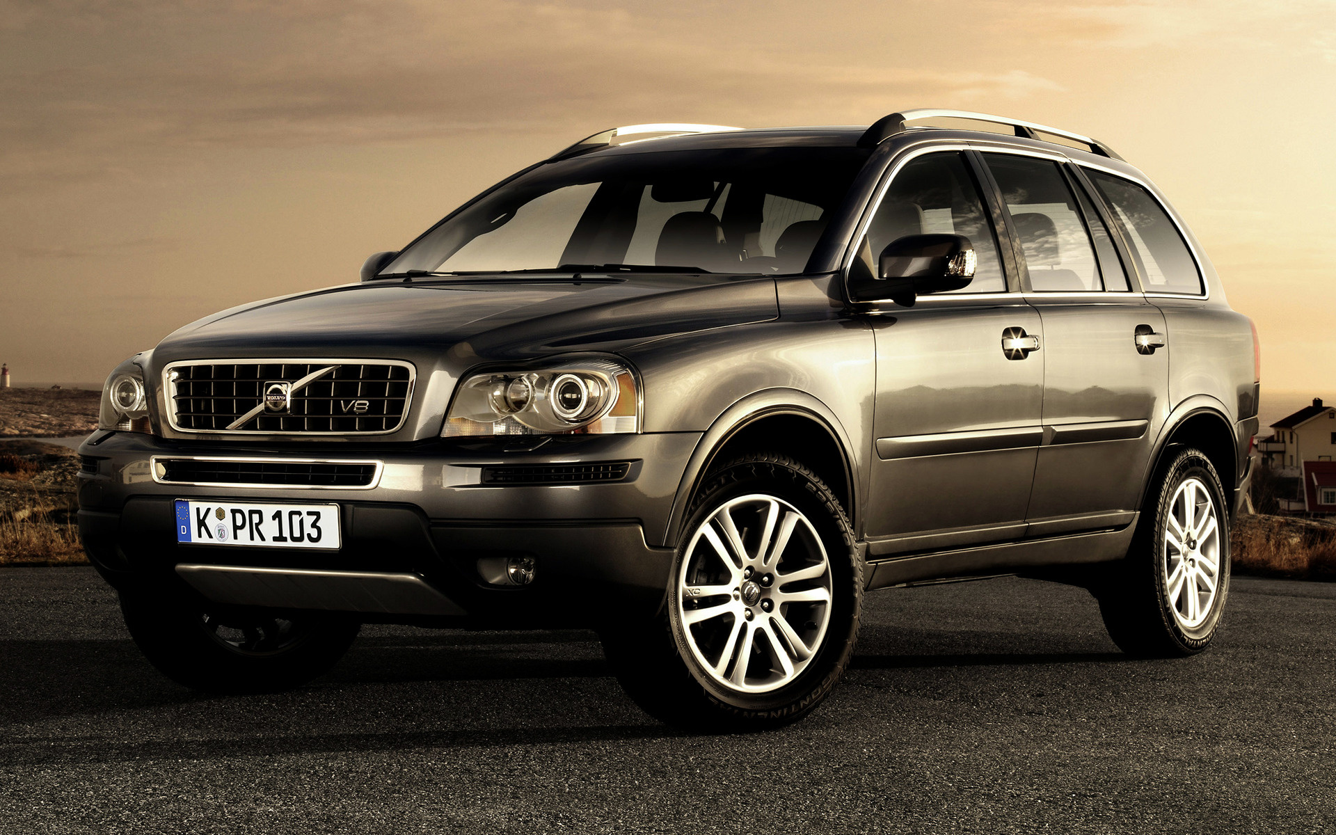 Volvo Xc90 V8 2008 Wallpapers And Hd Images Car Pixel