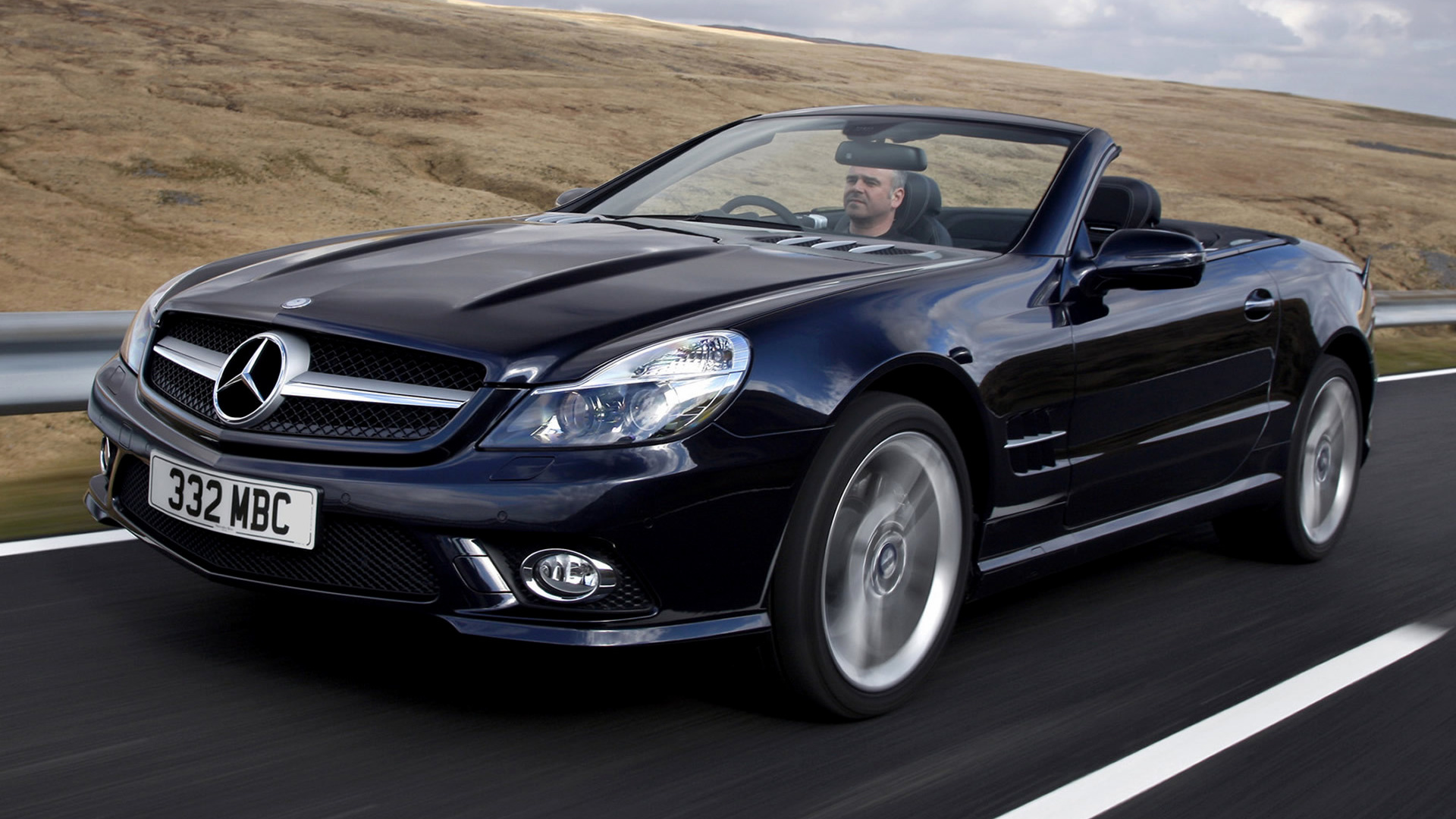 Mercedes benz sl class amg styling 2008 uk wallpapers for Mercedes benz sl class