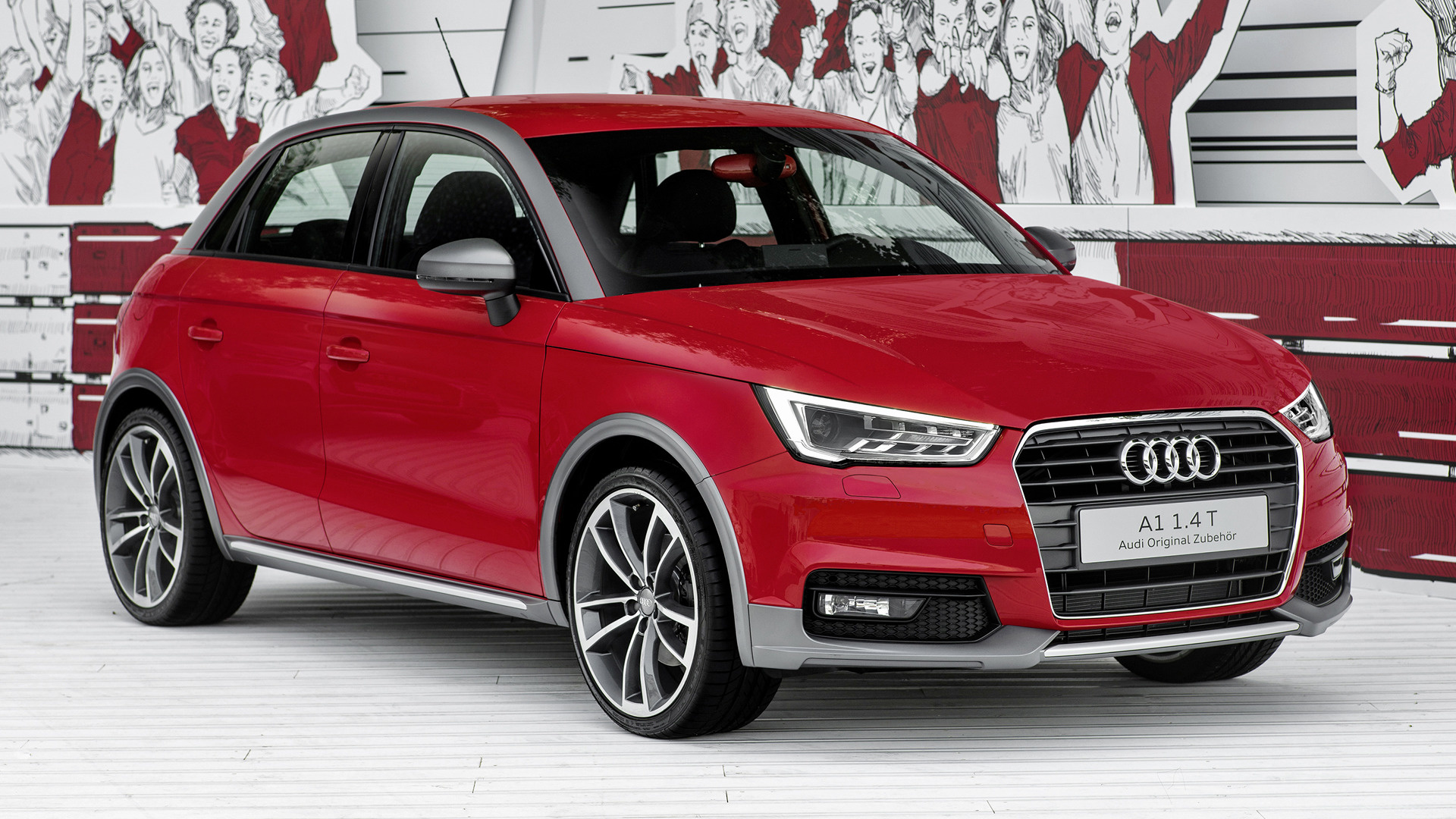 2015 Audi A1 Sportback With Genuine Accessories