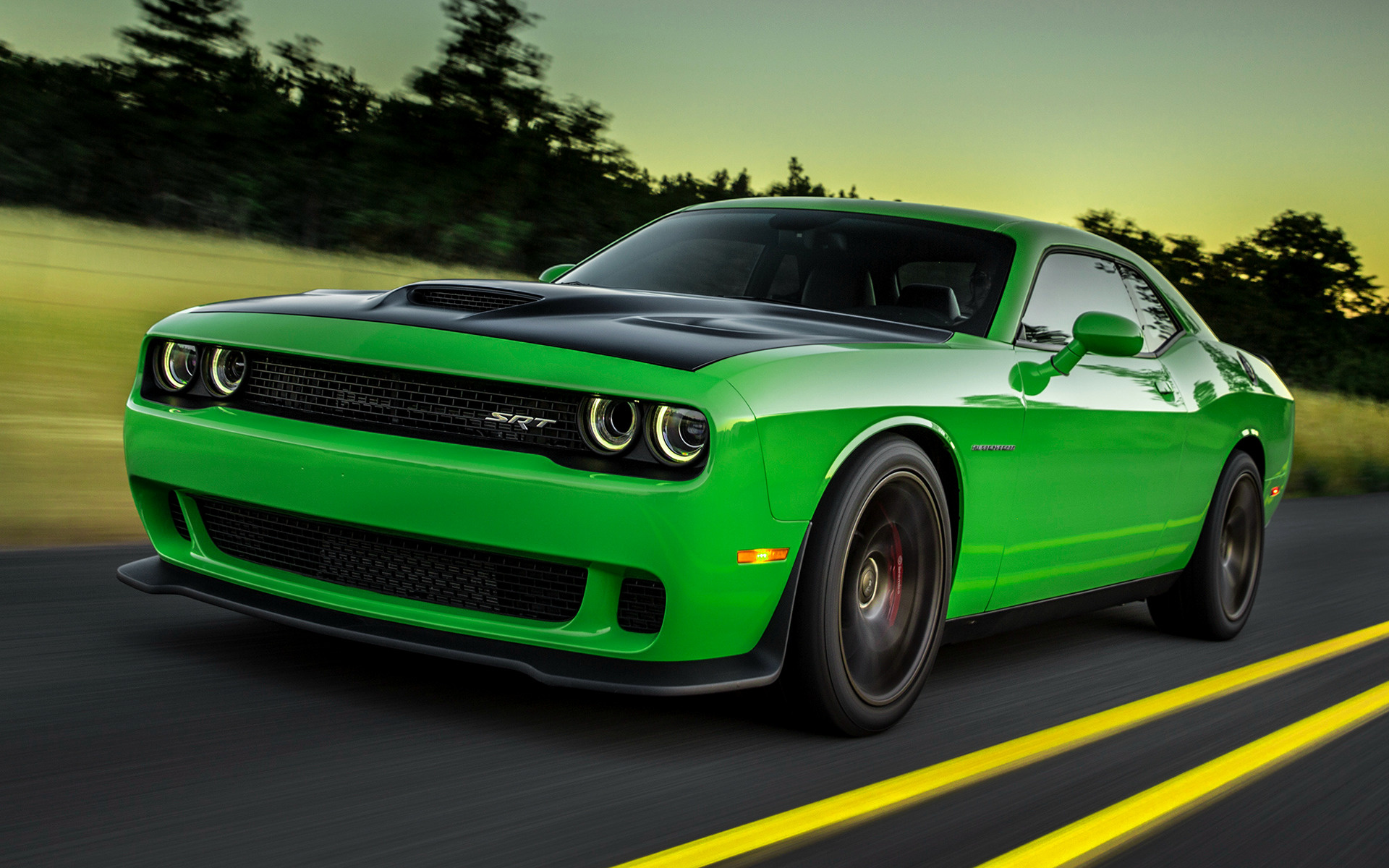 2015 Dodge Challenger SRT Hellcat - Wallpapers and HD ...
