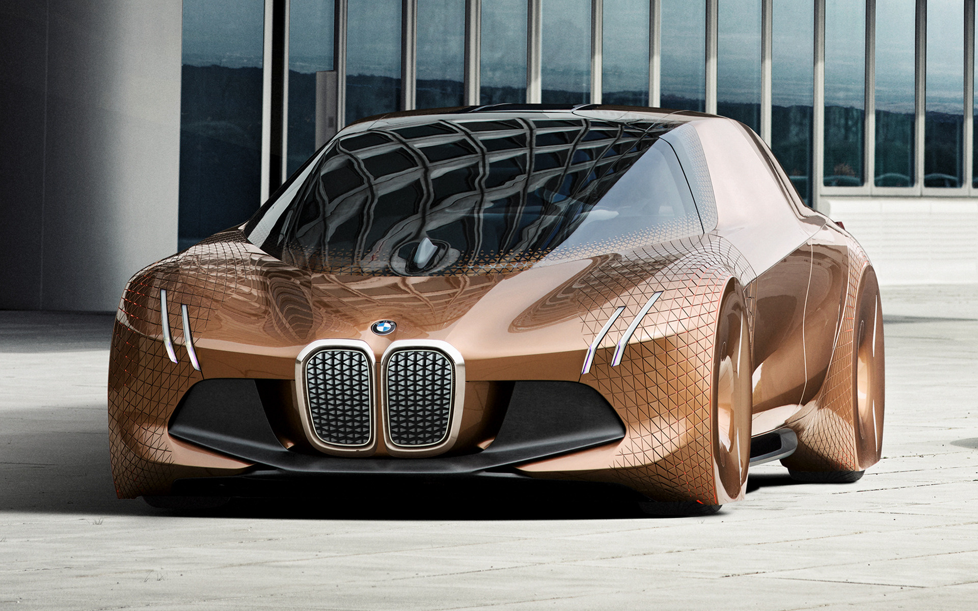 bmw vision next 100 2016 wallpapers and hd images car pixel. Black Bedroom Furniture Sets. Home Design Ideas