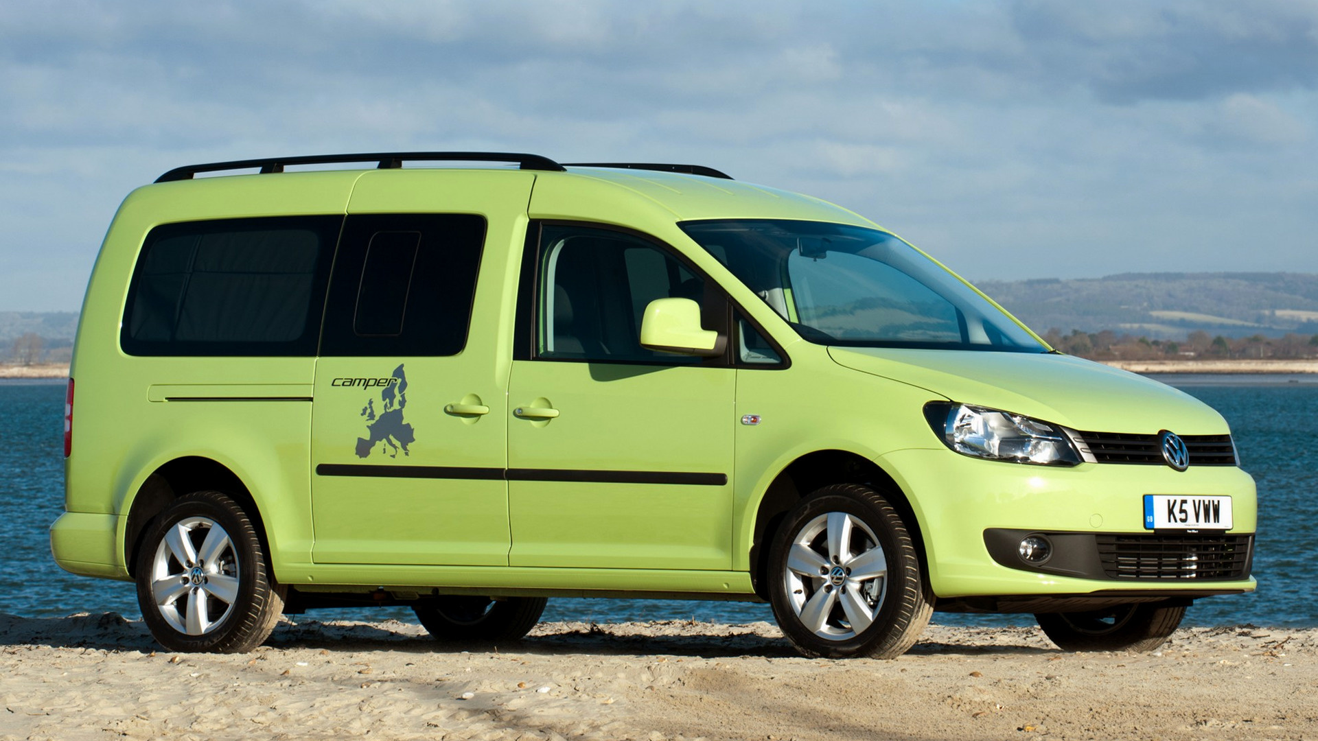 volkswagen caddy maxi camper 2013 uk wallpapers and hd. Black Bedroom Furniture Sets. Home Design Ideas