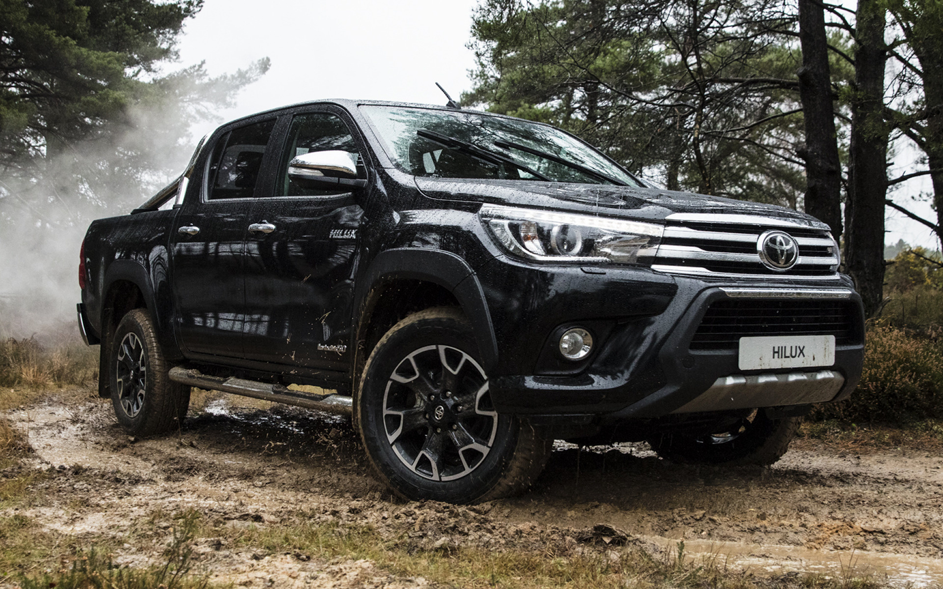 Toyota Hilux Invincible Chrome Edition Car Wallpaper