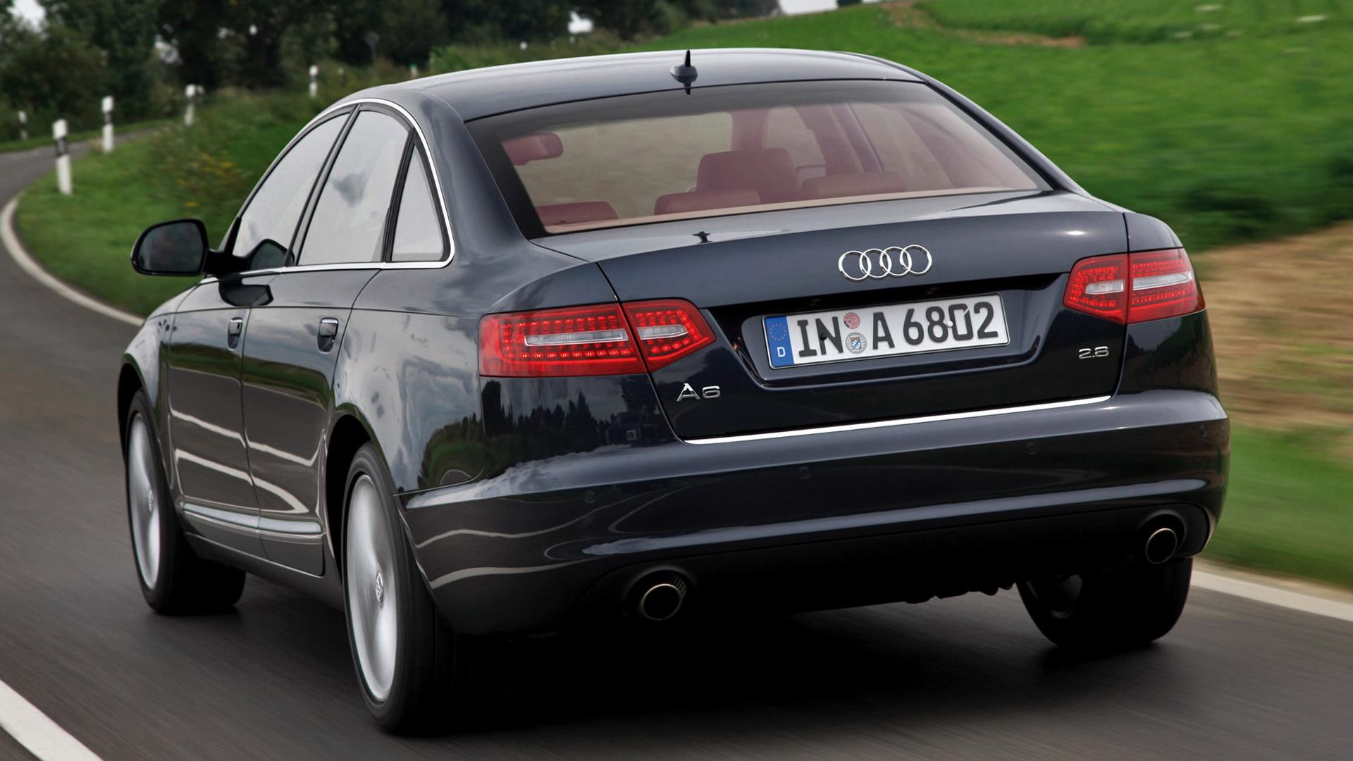 2008 Audi A6 Sedan Wallpapers And Hd Images Car Pixel
