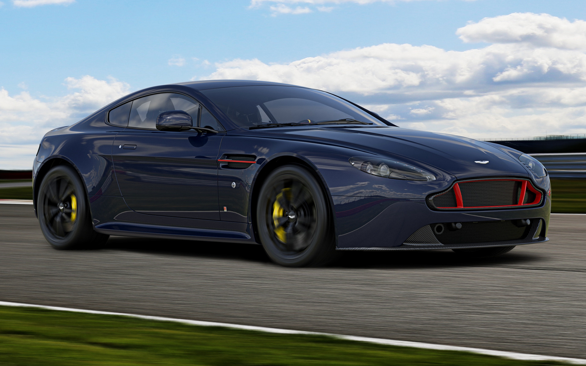 2017 Aston Martin V8 Vantage S Red Bull Racing Wallpapers And Hd Images Car Pixel