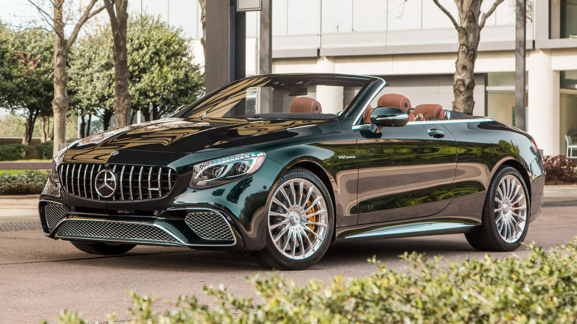 S Class Cabriolet >> 2018 Mercedes-AMG S 65 Cabriolet (US) - Wallpapers and HD ...