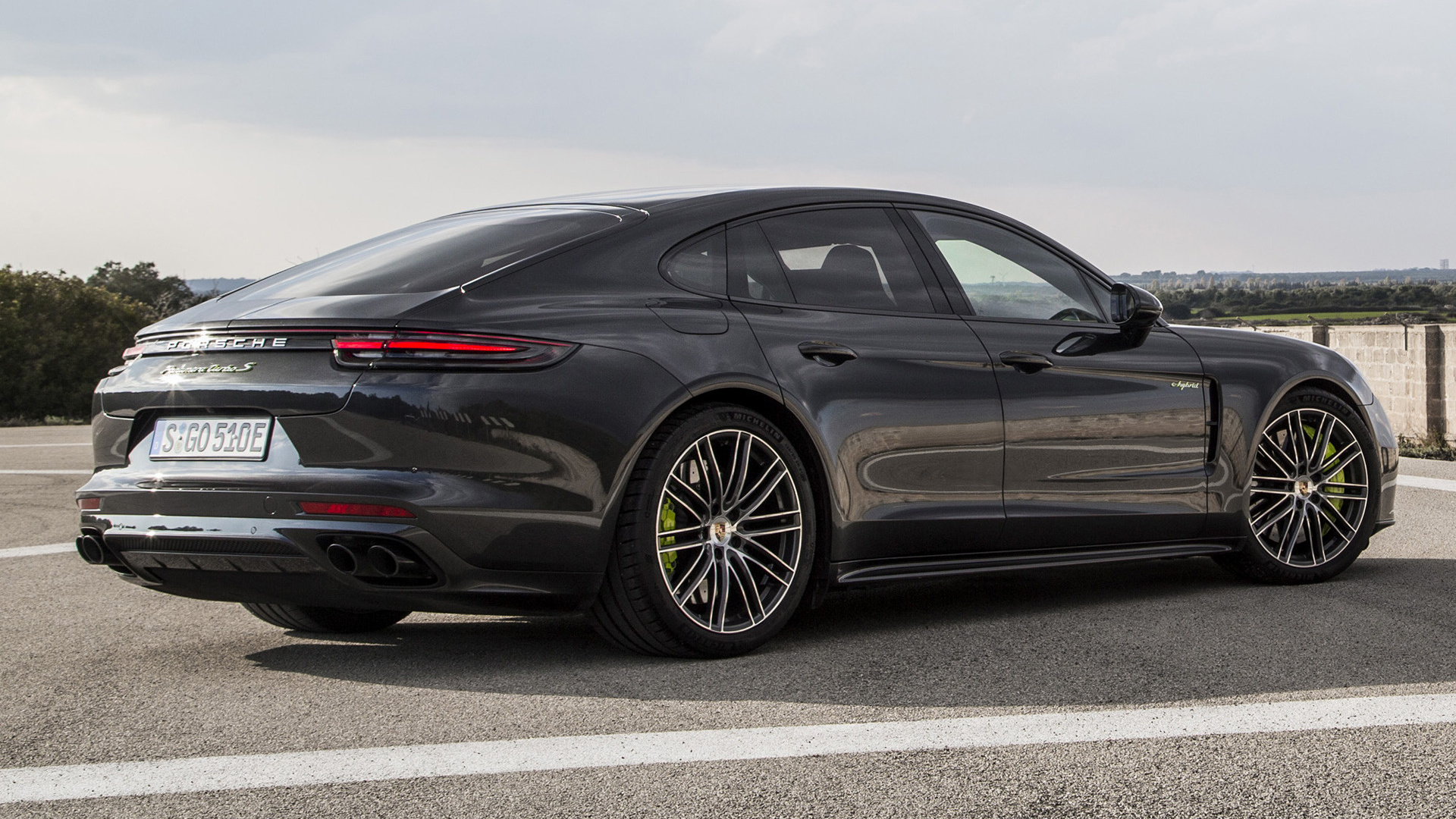 porsche panamera turbo s e-hybrid sportdesign package  2017  wallpapers and hd images
