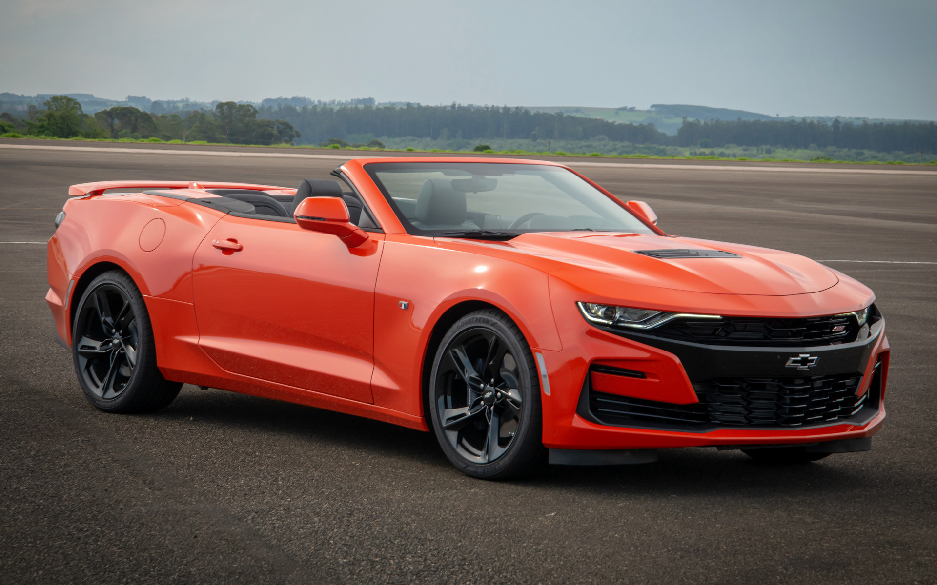 2019 Chevrolet Camaro SS Convertible (BR) - Wallpapers and ...