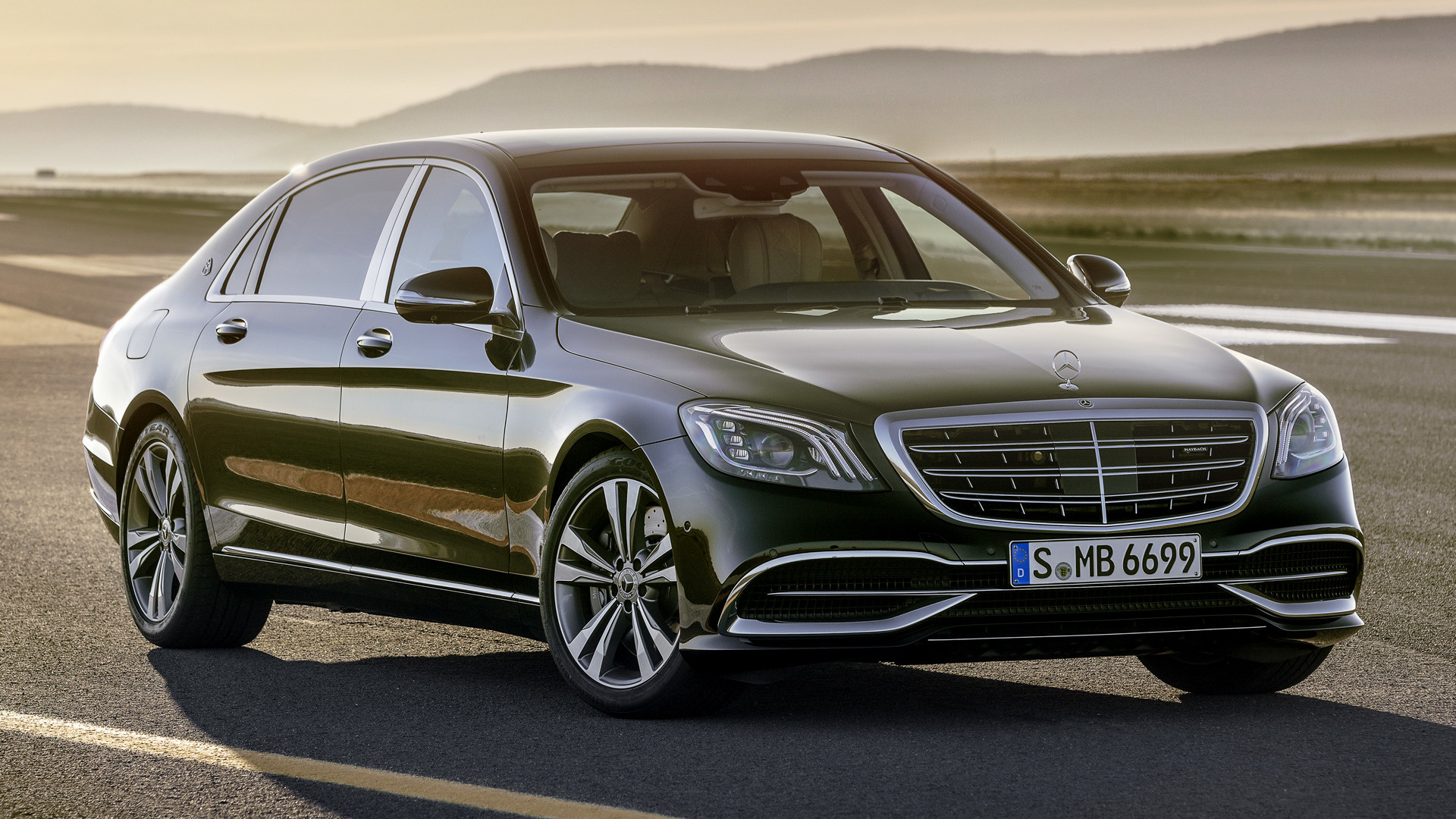10+ S Class Wallpaper Mercedes Benz Maybach PNG