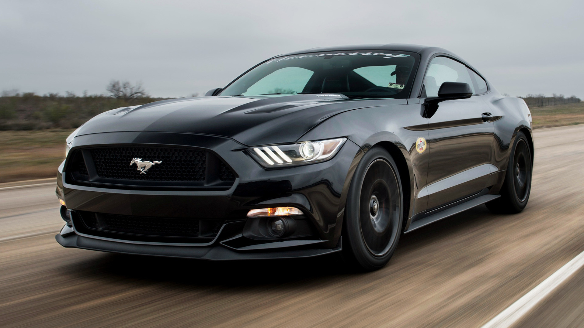 Hennessey Mustang Gt Hpe700 Supercharged 2015 Wallpapers