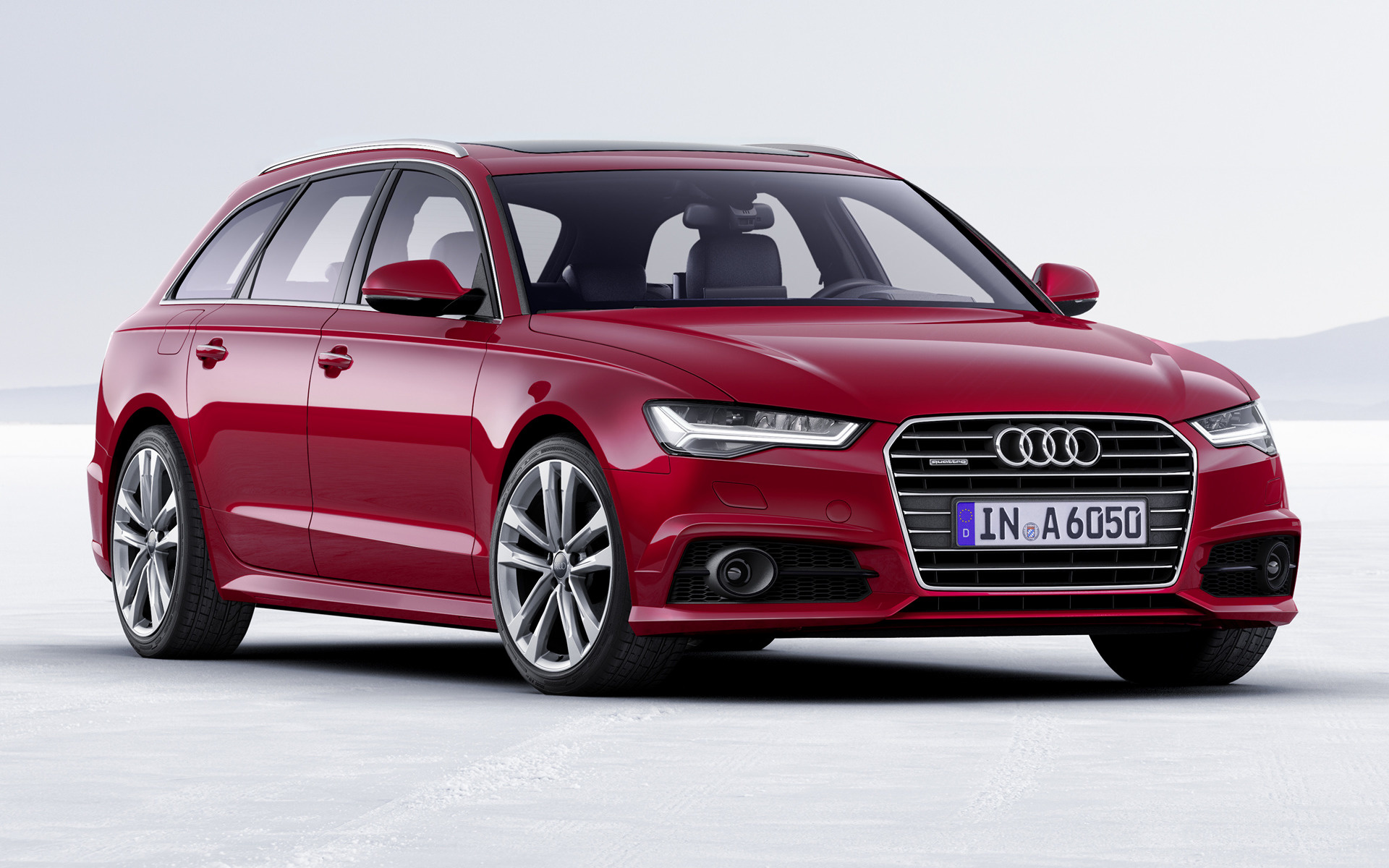 audi a6 avant 2016 wallpapers and hd images car pixel. Black Bedroom Furniture Sets. Home Design Ideas
