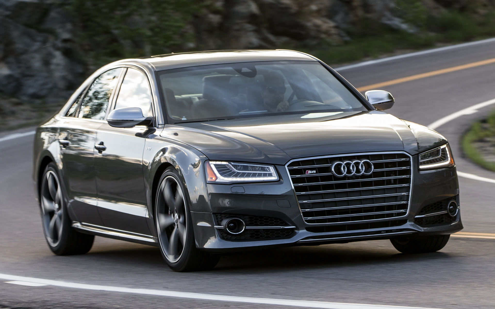 Audi S8 (2014) US Wallpapers And HD Images