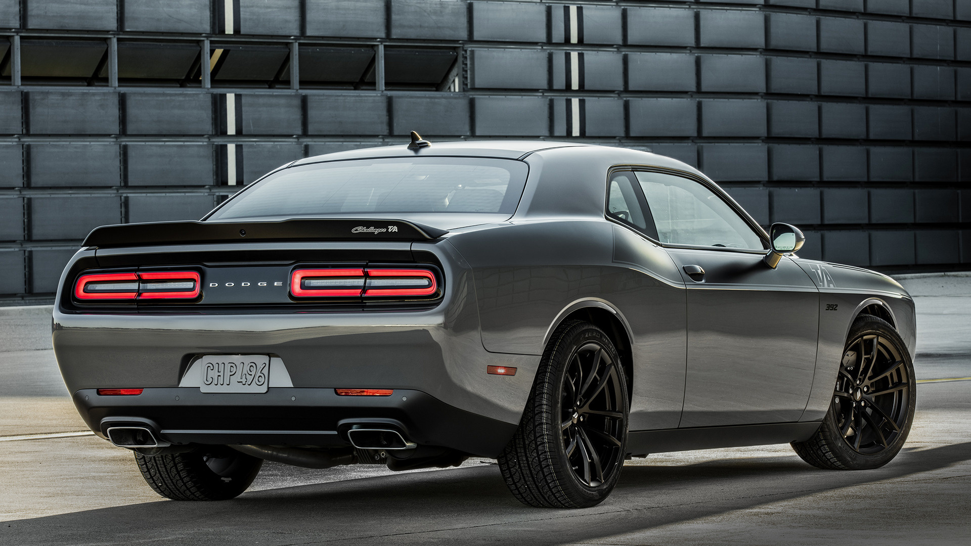 2018 Dodge Challenger >> Dodge Challenger T/A 392 (2017) Wallpapers and HD Images ...