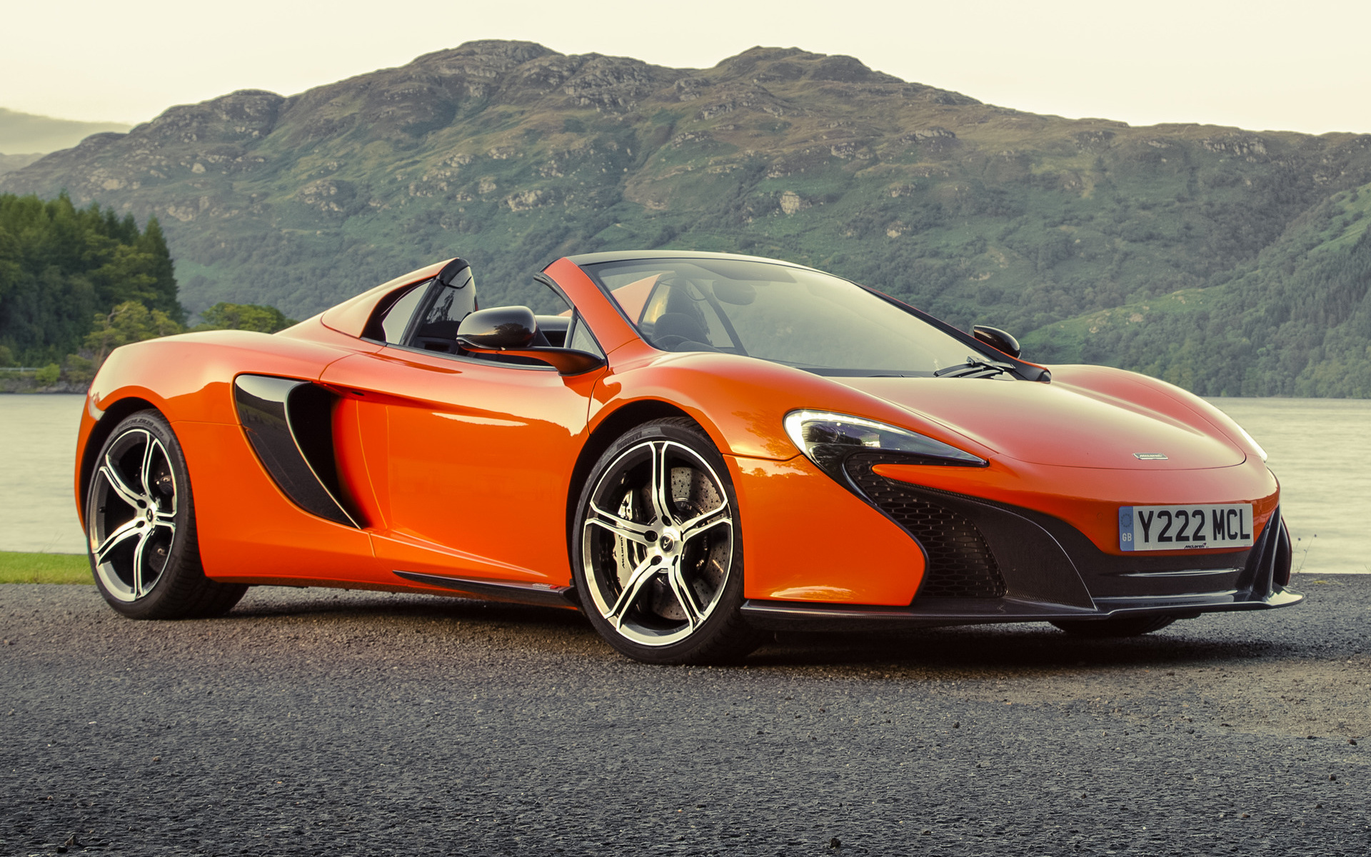 mclaren 650s spider 2014 uk wallpapers and hd images car pixel. Black Bedroom Furniture Sets. Home Design Ideas