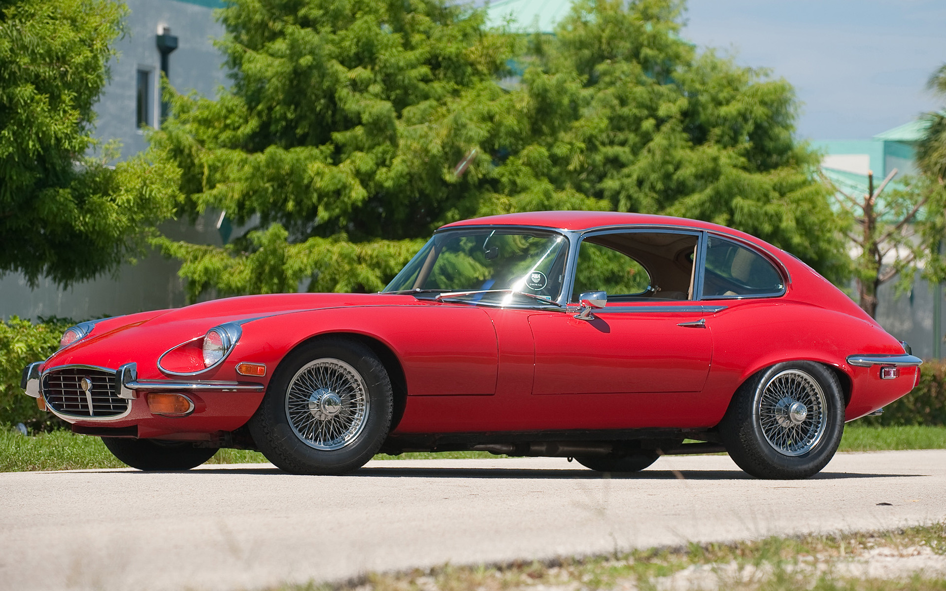 Jaguar F Type Coupe >> Jaguar E-Type V12 2+2 Coupe (1971) US Wallpapers and HD ...