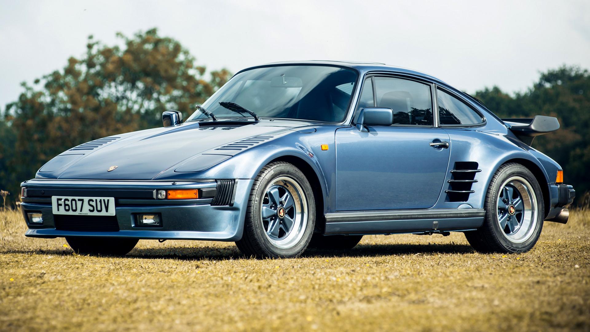 Porsche 911 Turbo Se Slantnose 1989 Uk Wallpapers And Hd