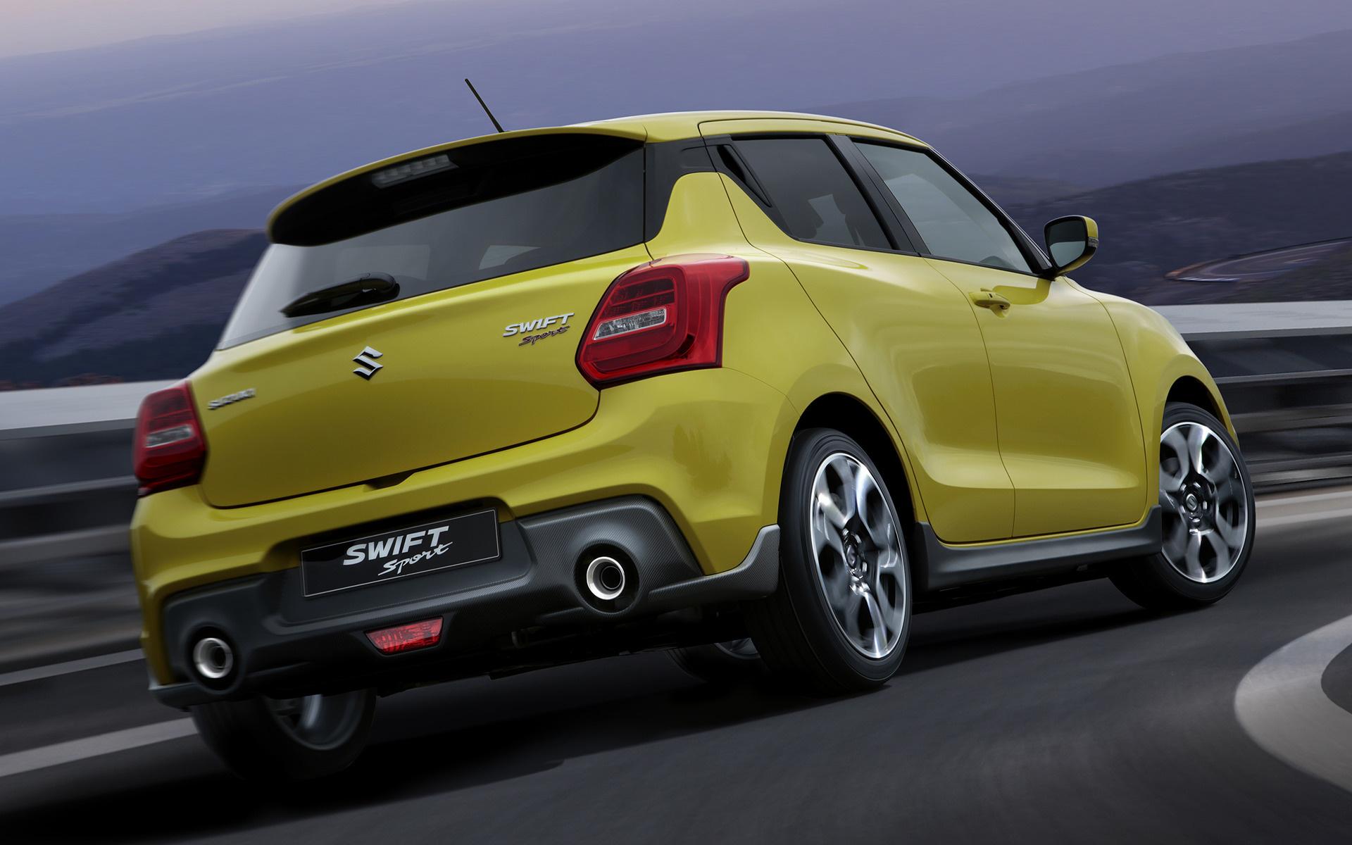 2018 Suzuki Swift Sport Fondos De Pantalla E Imágenes En