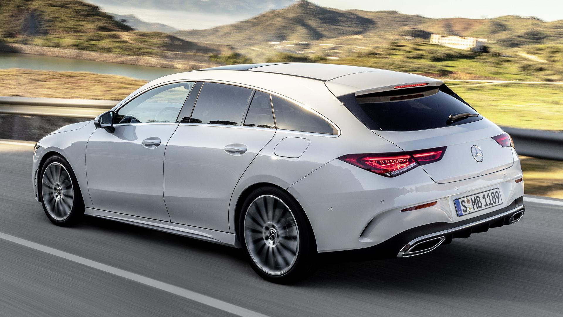 Mercedes Benz Cla >> 2019 Mercedes-Benz CLA-Class Shooting Brake AMG Line ...