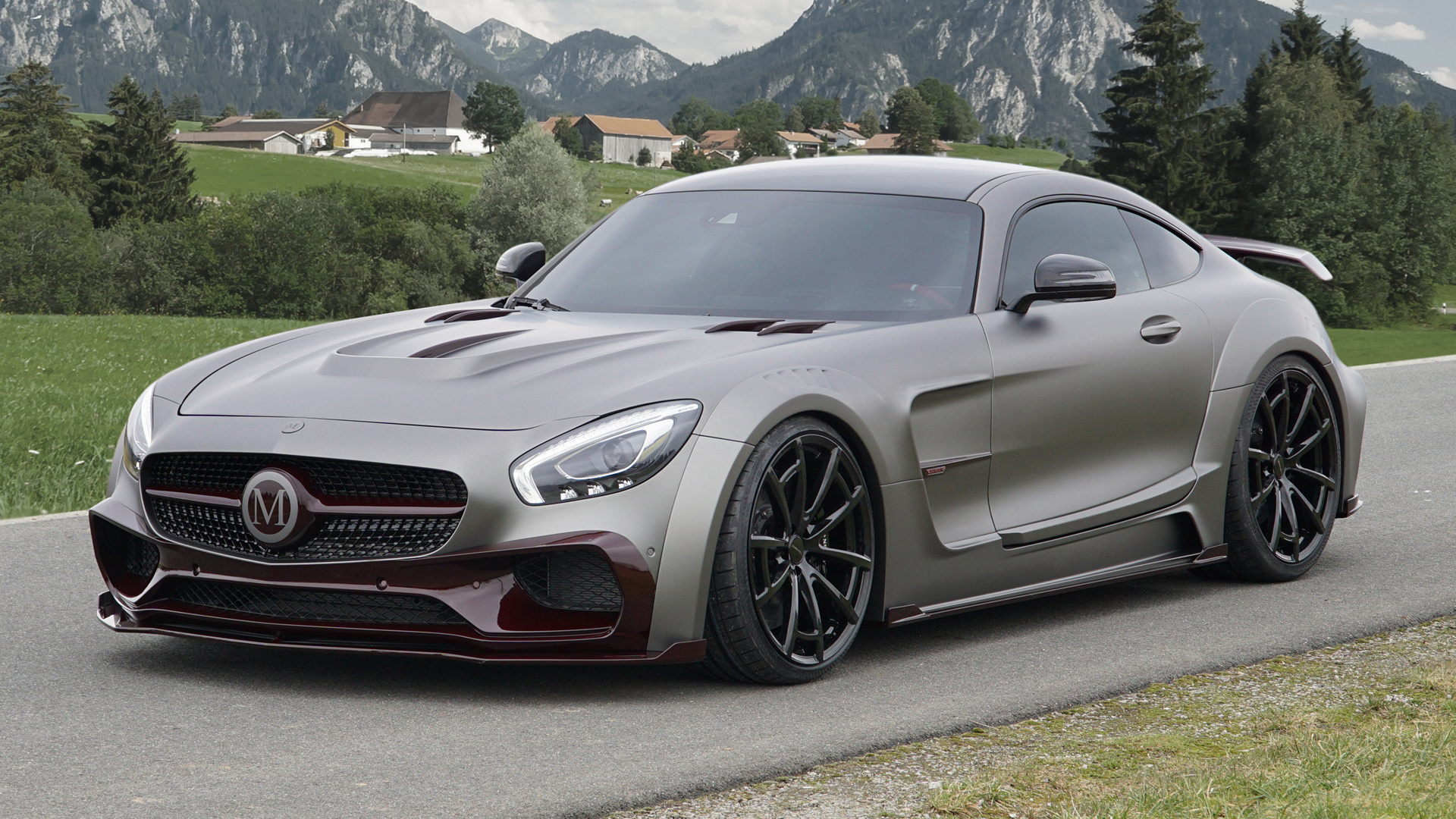 mercedes amg gt s by mansory 2016 wallpapers and hd. Black Bedroom Furniture Sets. Home Design Ideas