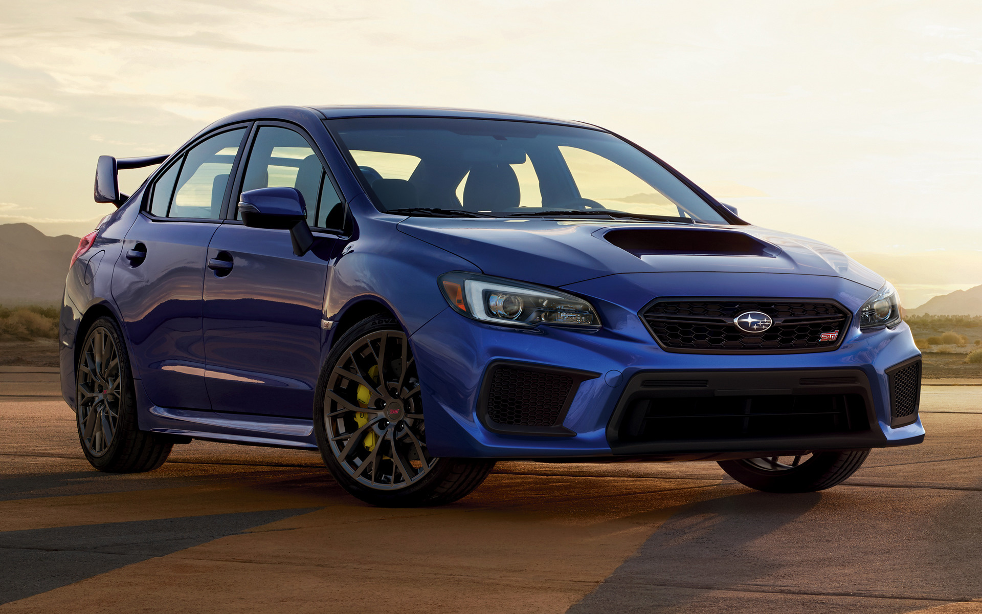 Subaru Wrx Sti 2018 Us Wallpapers And Hd Images Car Pixel