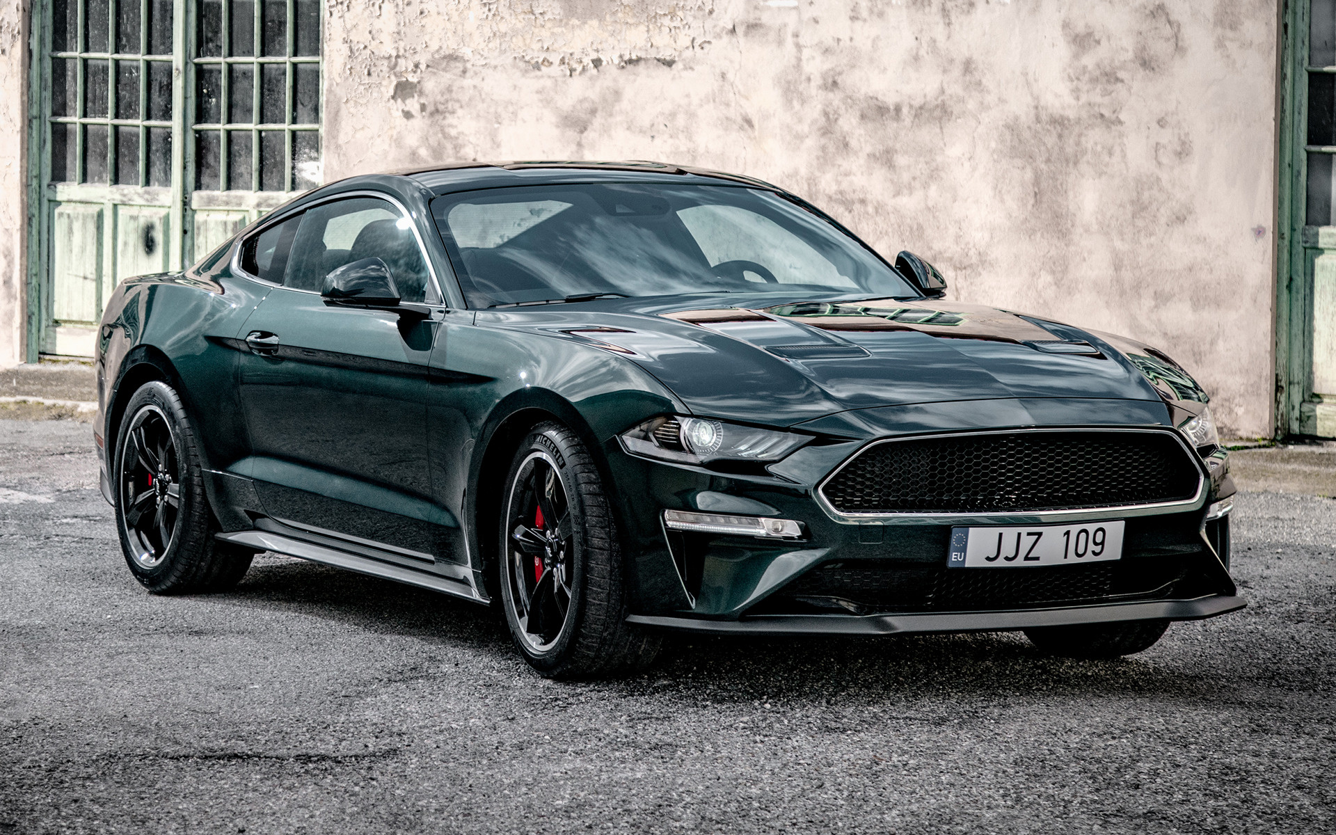 2019 Ford Mustang Bullitt (EU) - Wallpapers and HD Images | Car Pixel