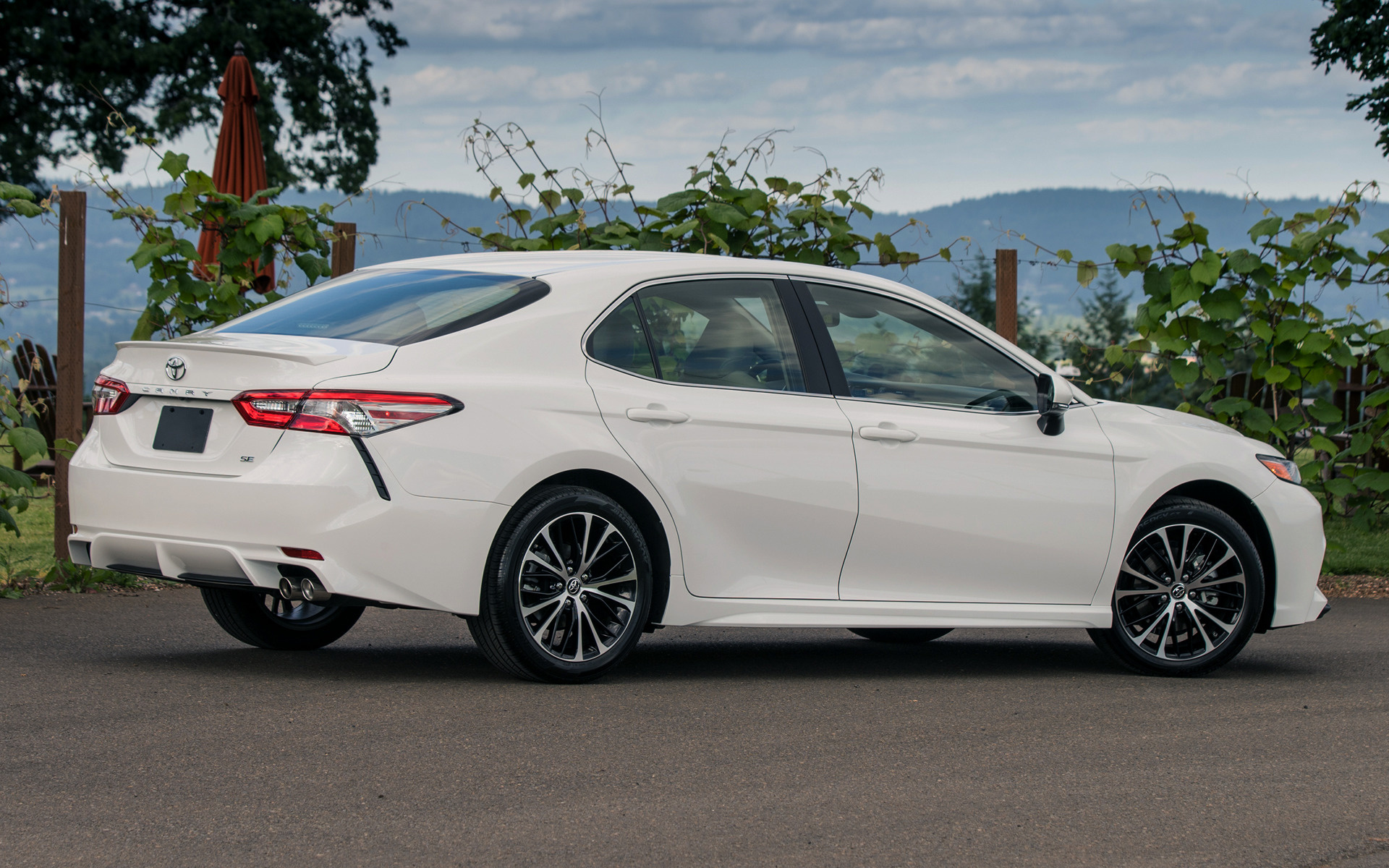 2018 Camry Le >> 2018 Toyota Camry SE - Wallpapers and HD Images | Car Pixel