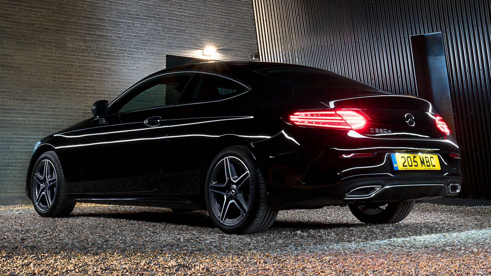 2018 Mercedes Benz C Class Coupe Amg Line Uk Wallpapers And Hd Images Car Pixel