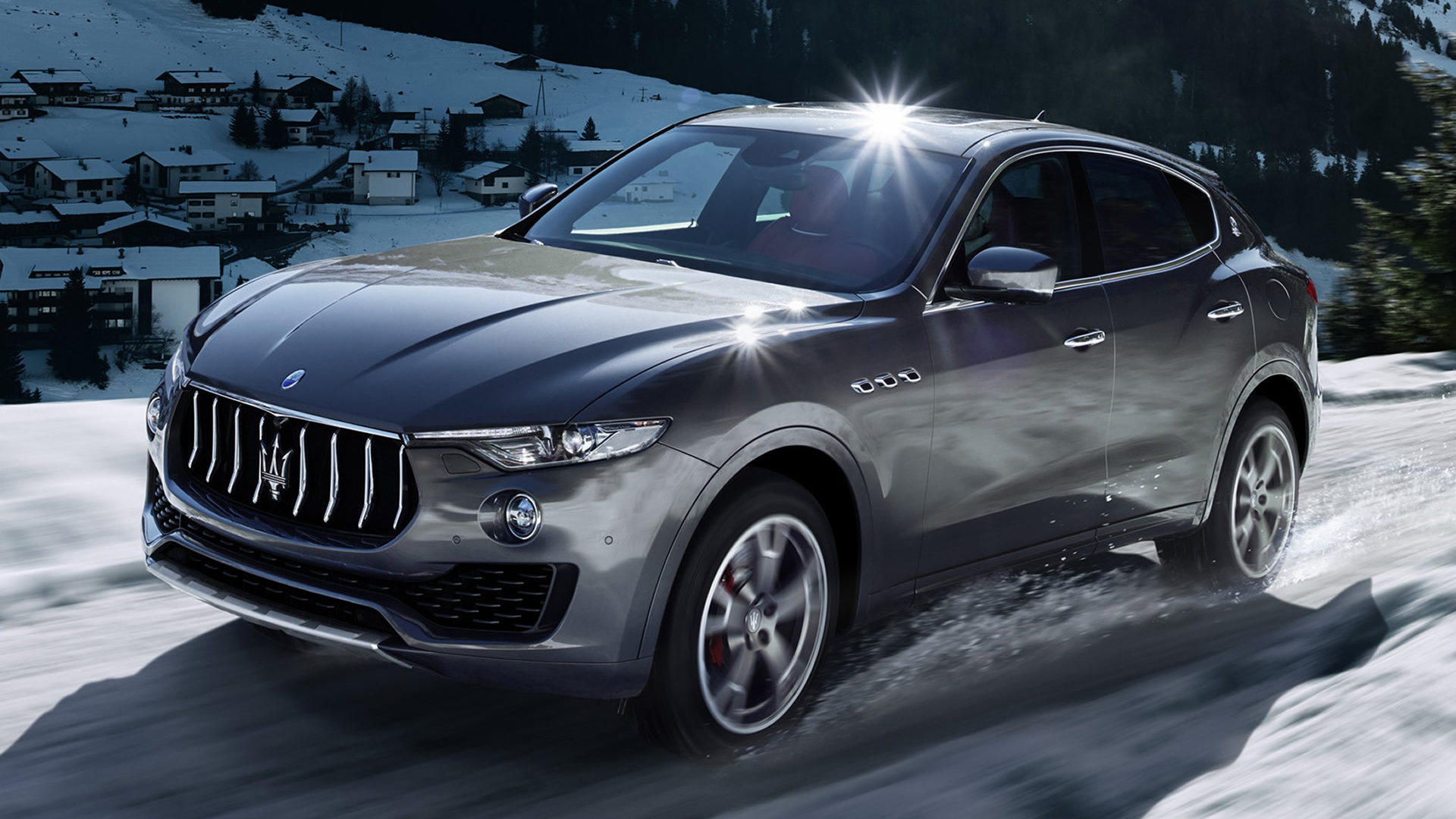 Maserati levante 2016 wallpapers and hd images car pixel - Maserati levante wallpaper ...