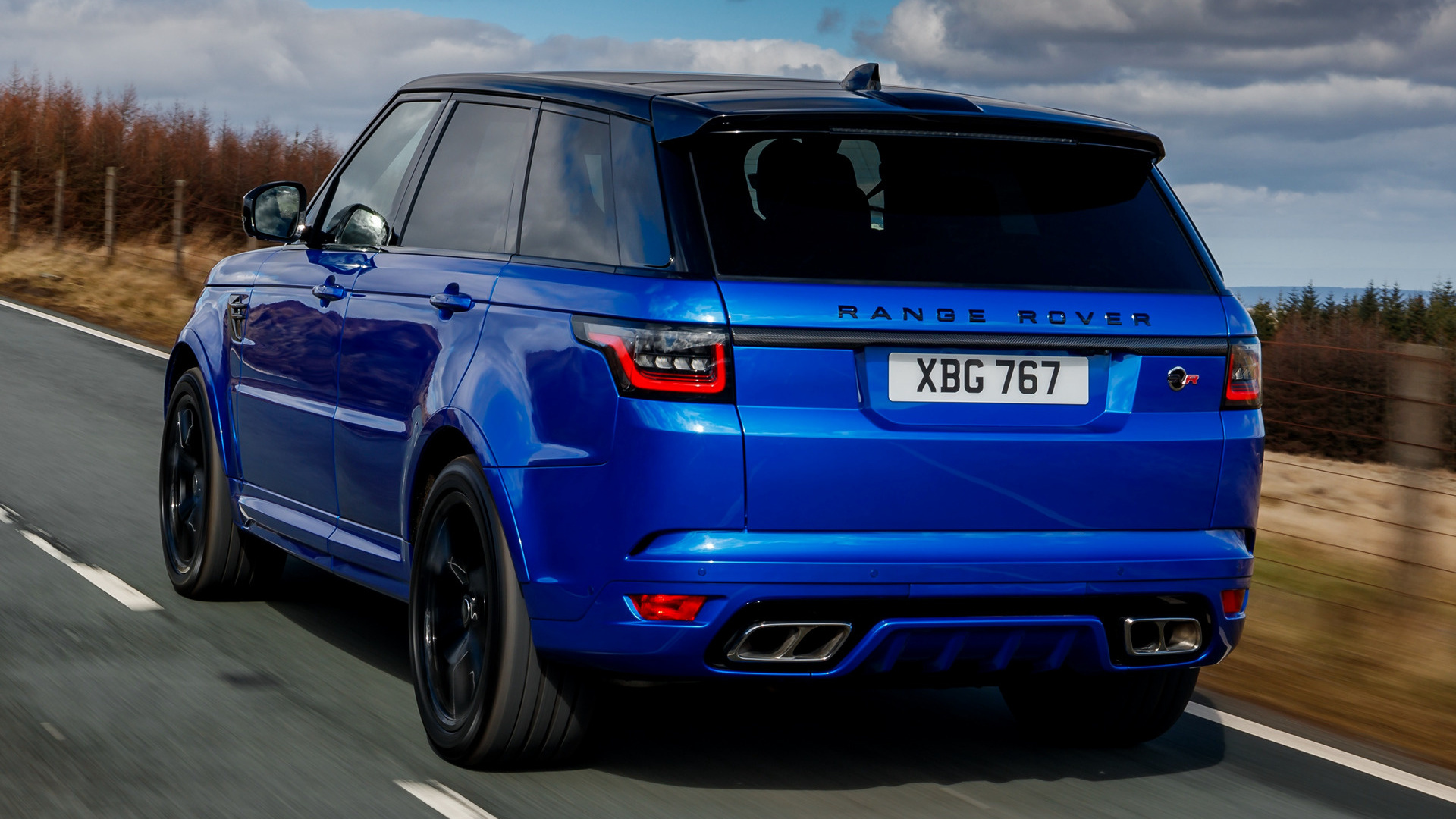 Range Rover Sport 2018 >> 2018 Range Rover Sport SVR (UK) - Wallpapers and HD Images | Car Pixel