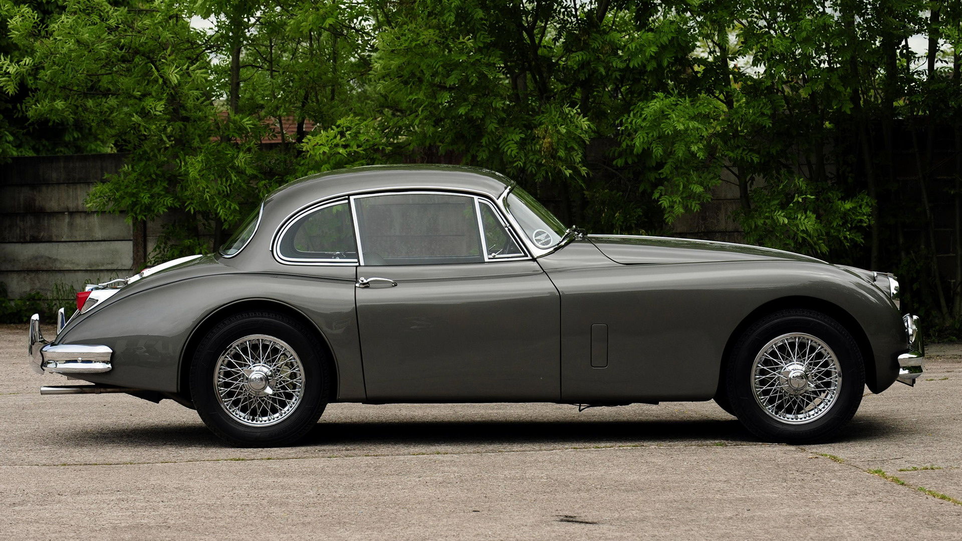 Jaguar Xk150 Fixed Head Coupe 1958 Uk Wallpapers And Hd