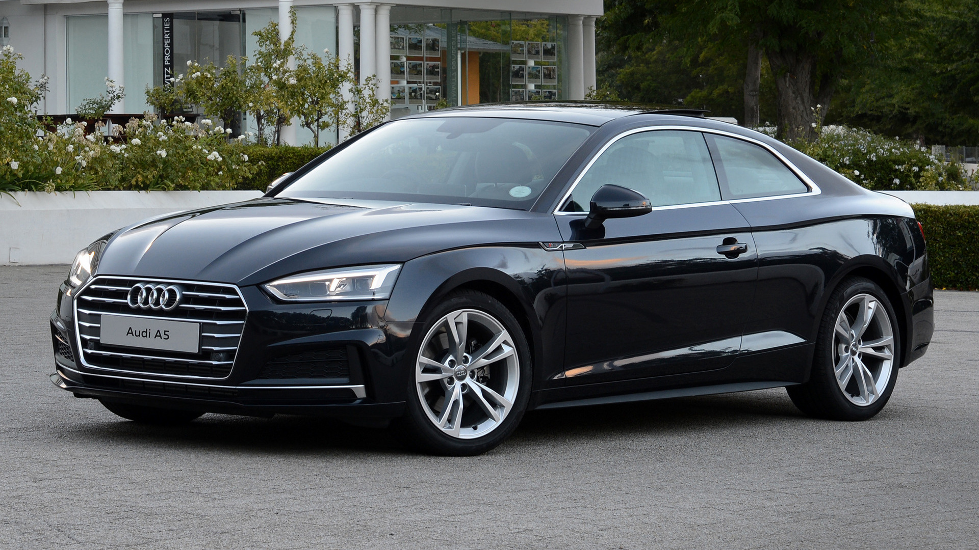 audi a5 coupe s line 2017 za wallpapers and hd images. Black Bedroom Furniture Sets. Home Design Ideas