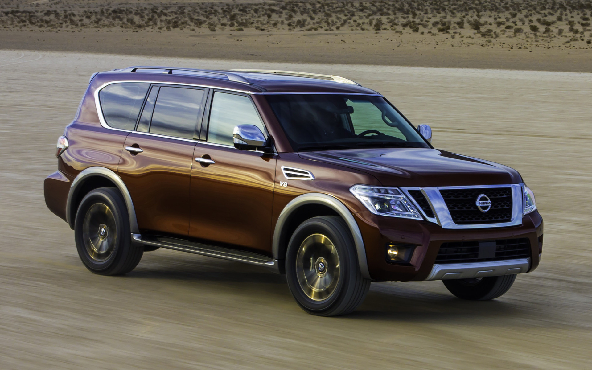 Nissan Armada Platinum (2017) Wallpapers and HD Images ...