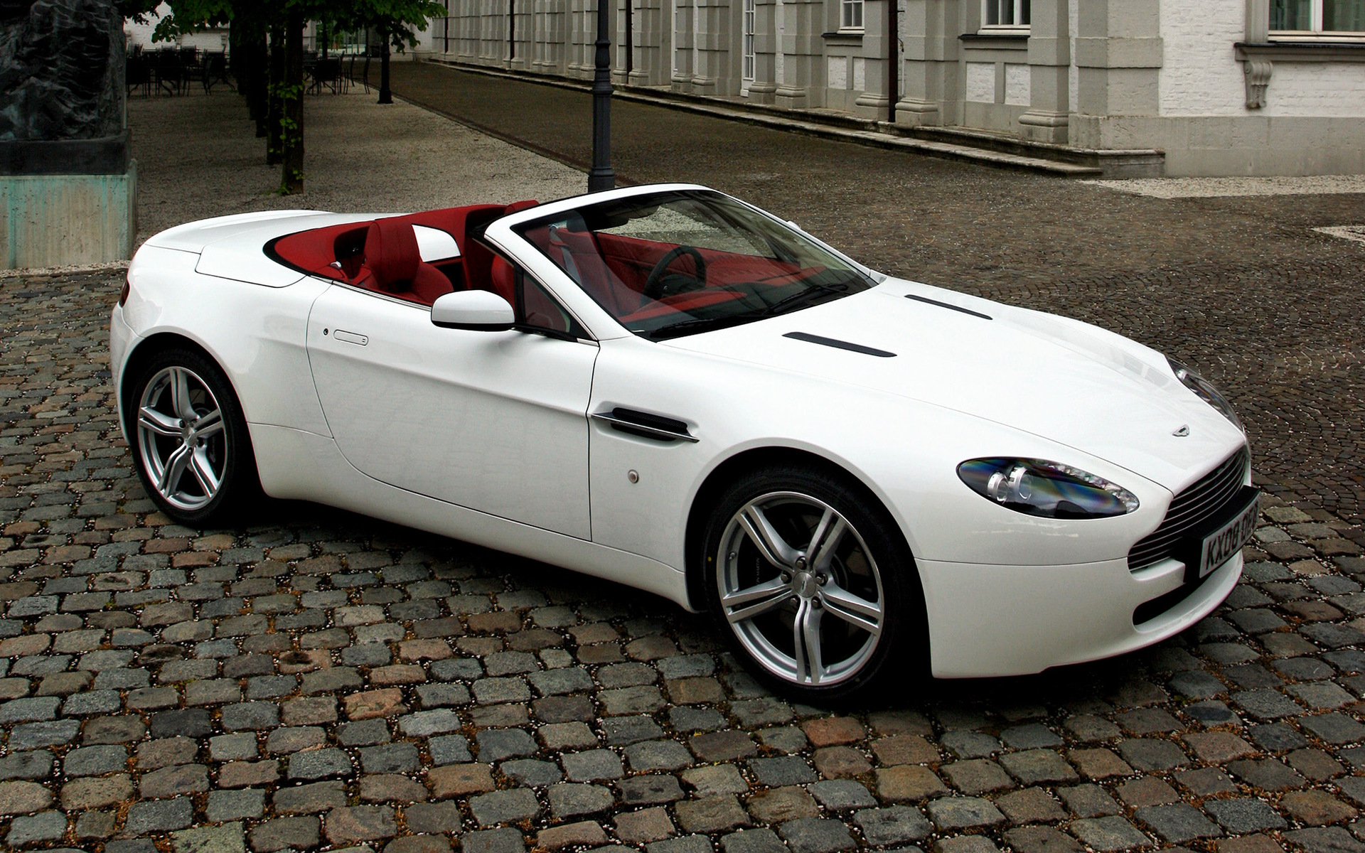 2008 Aston Martin V8 Vantage Roadster Wallpapers And Hd Images Car Pixel