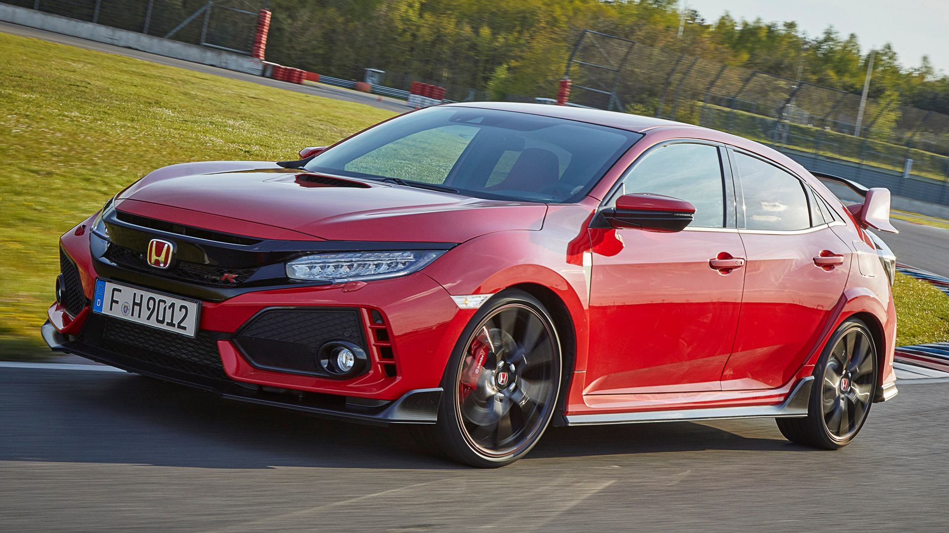 Honda Civic Type R (2017) Wallpapers and HD Images - Car Pixel