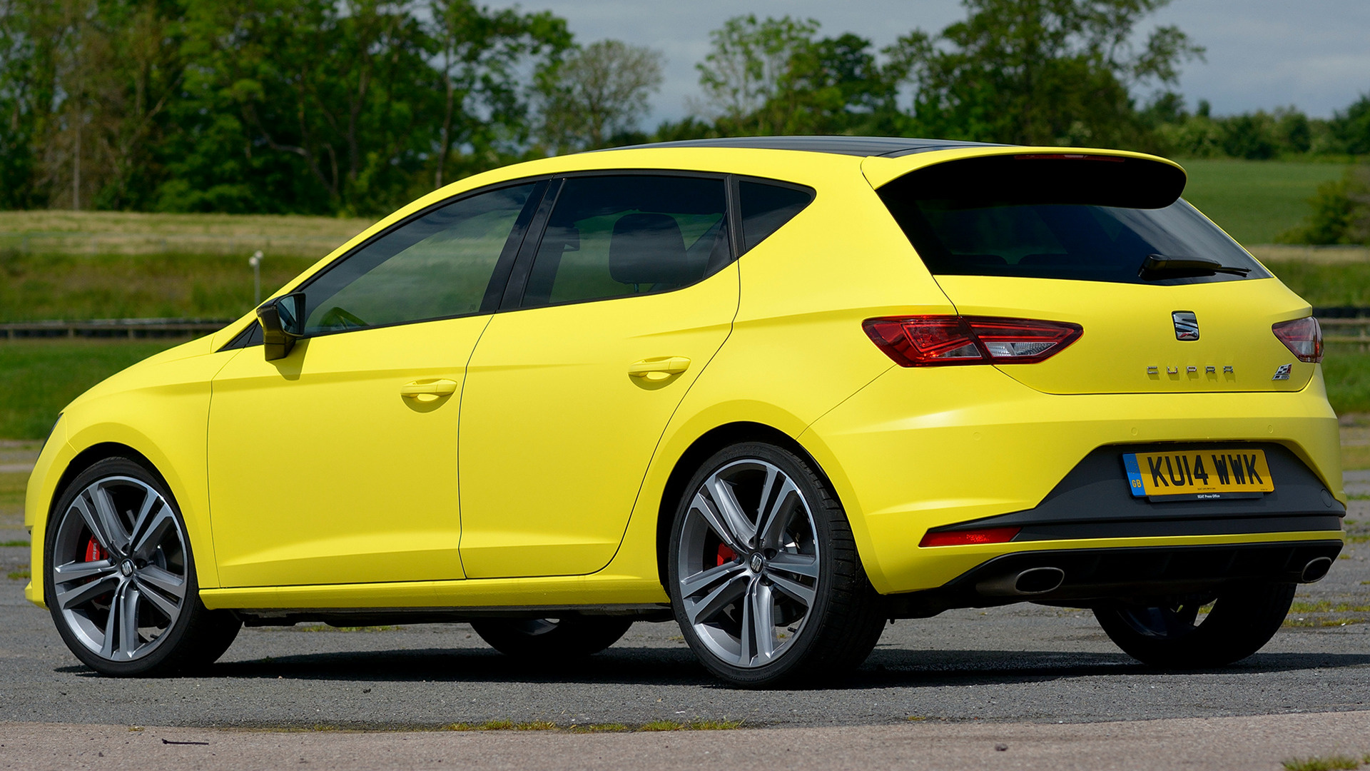 seat leon cupra 280 2014 uk wallpapers and hd images. Black Bedroom Furniture Sets. Home Design Ideas