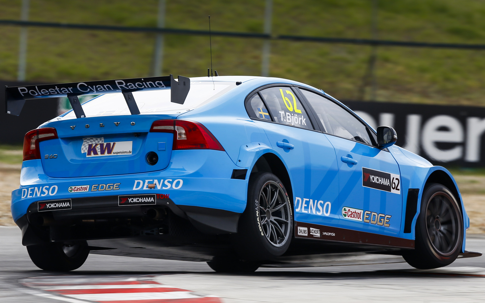 2016 Volvo S60 Polestar TC1 WTCC - Wallpapers and HD Images | Car Pixel