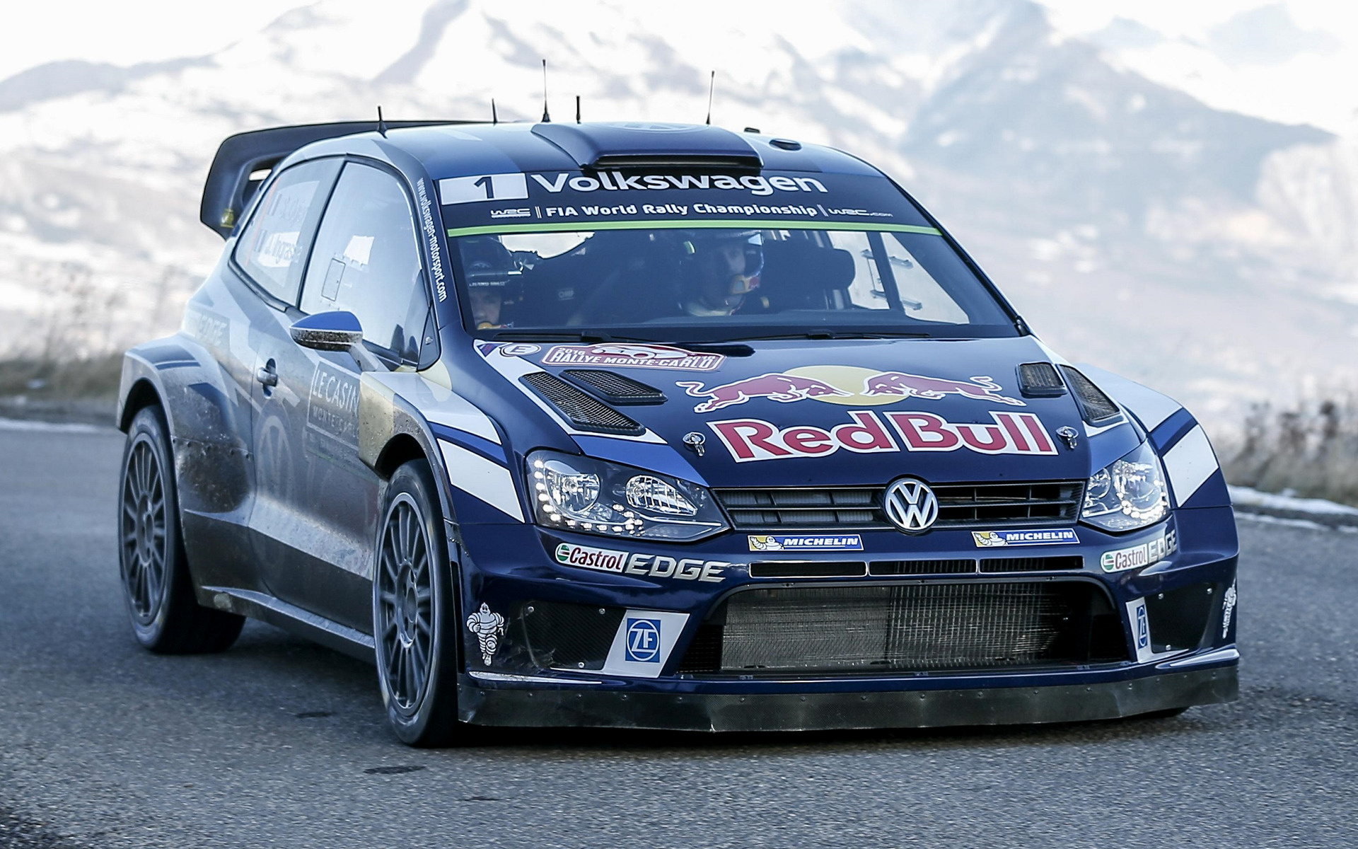Mitsubishi Eclipse 2015 >> 2016 Volkswagen Polo R WRC - Wallpapers and HD Images | Car Pixel