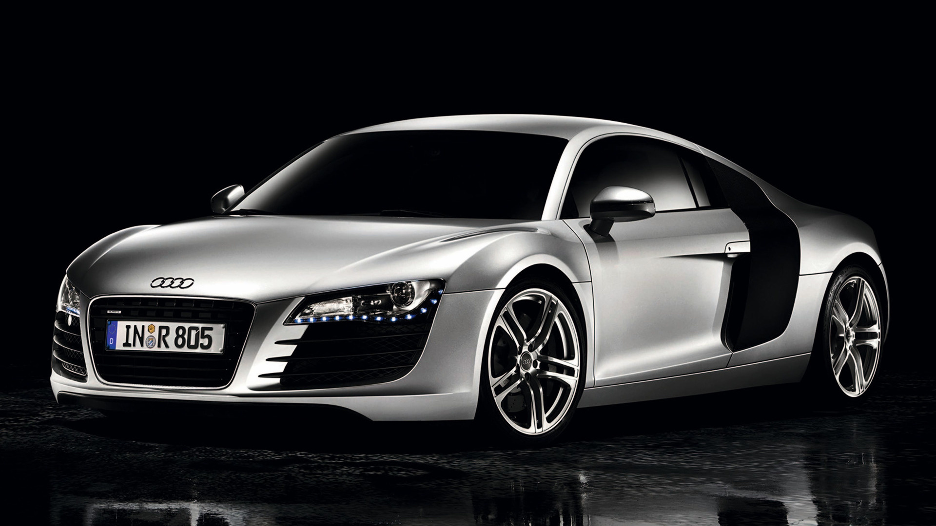 2007 audi r8 coupe wallpapers and hd images car pixel. Black Bedroom Furniture Sets. Home Design Ideas