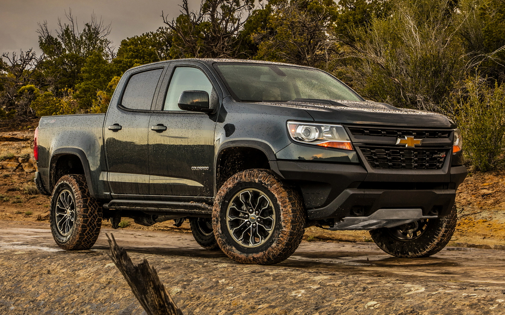 2017 Chevrolet Colorado ZR2 Crew Cab - Wallpapers and HD ...