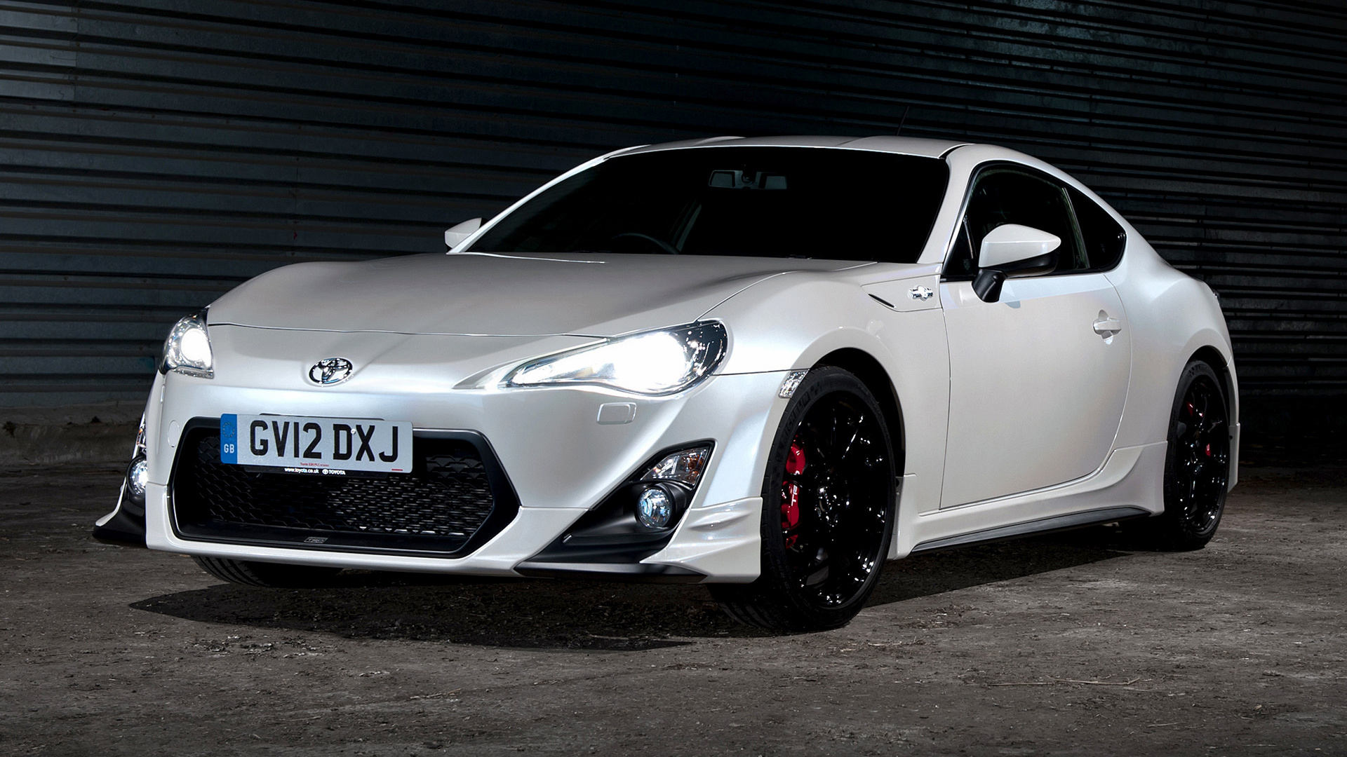 toyota gt 86 white car hd wallpaper wallpaper gallery. Black Bedroom Furniture Sets. Home Design Ideas