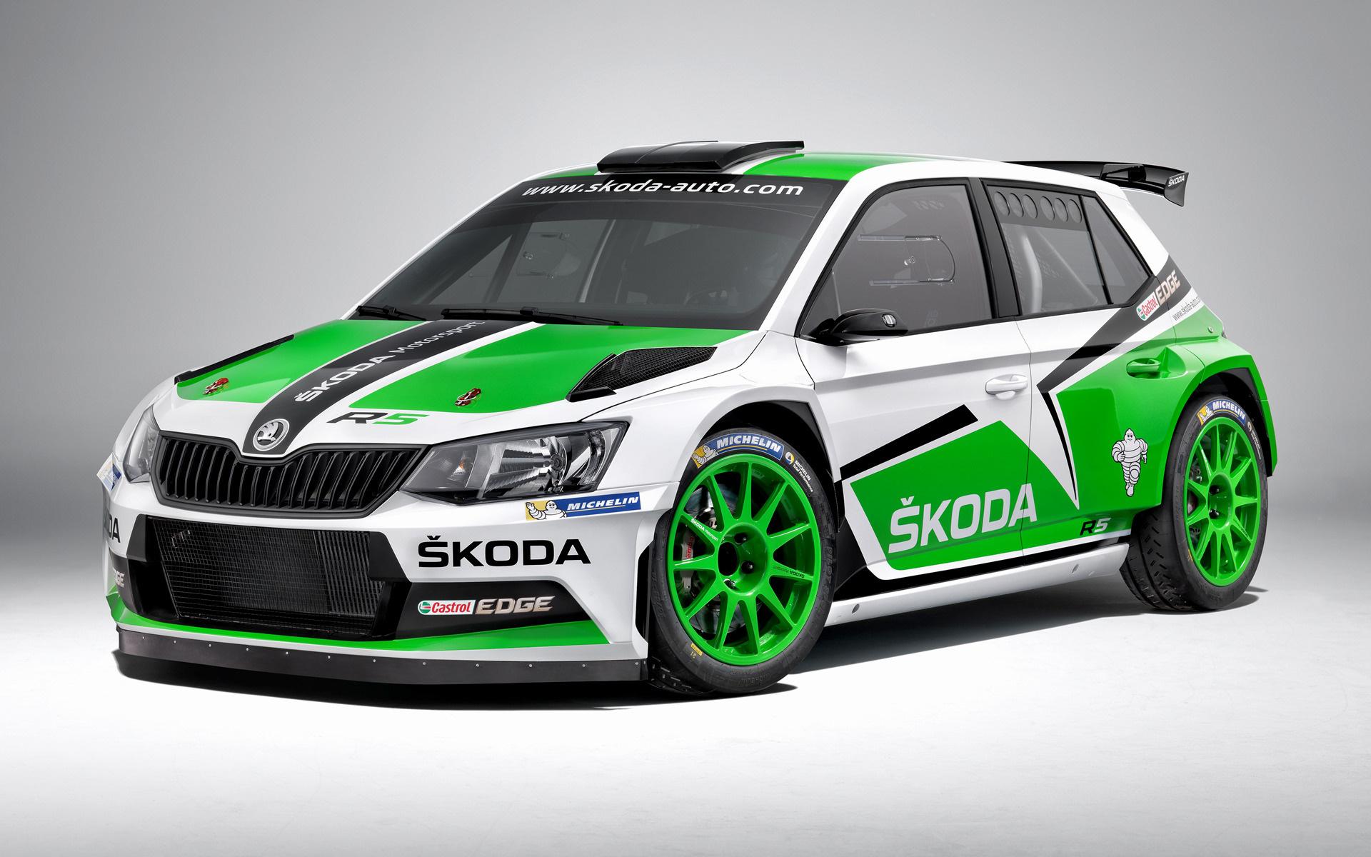Skoda Fabia R5 2015 Wallpapers And Hd Images Car Pixel