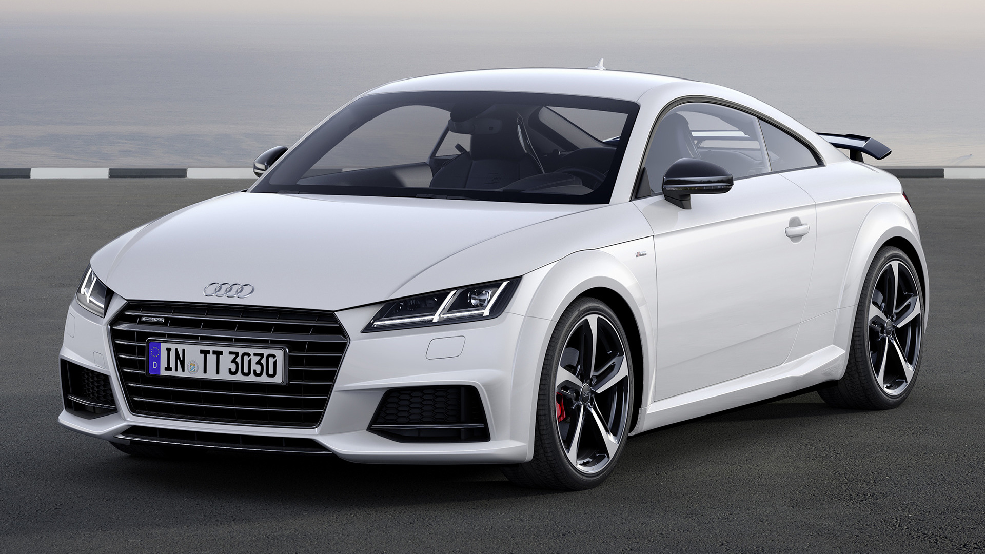 audi tt coupe s line competition 2016 wallpapers and hd. Black Bedroom Furniture Sets. Home Design Ideas