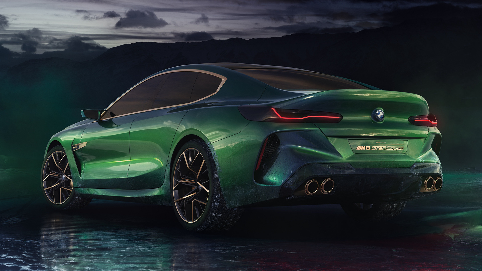 BMW Concept M8 Gran Coupe (2018) Wallpapers and HD Images - Car Pixel
