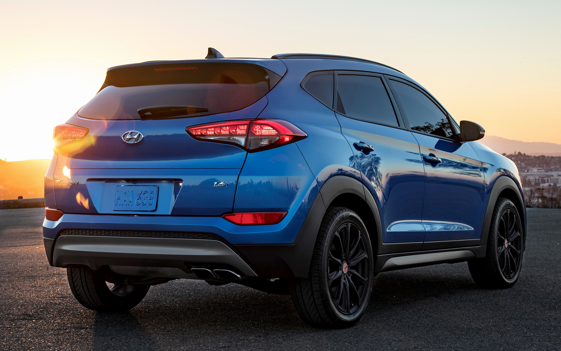 2017 Hyundai Tucson Night Us Wallpapers And Hd Images