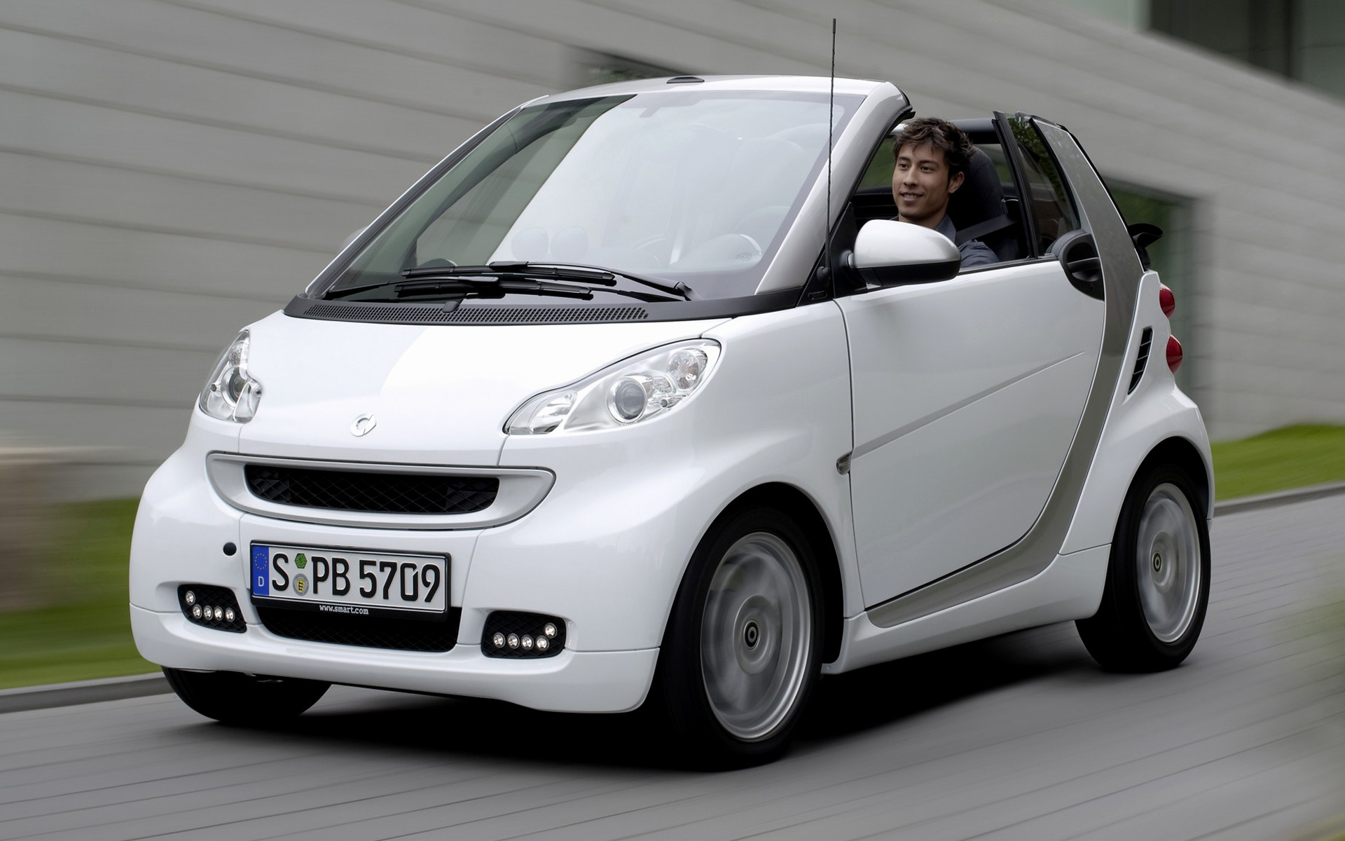 smart fortwo cabrio passion wallpapers  hd images car pixel