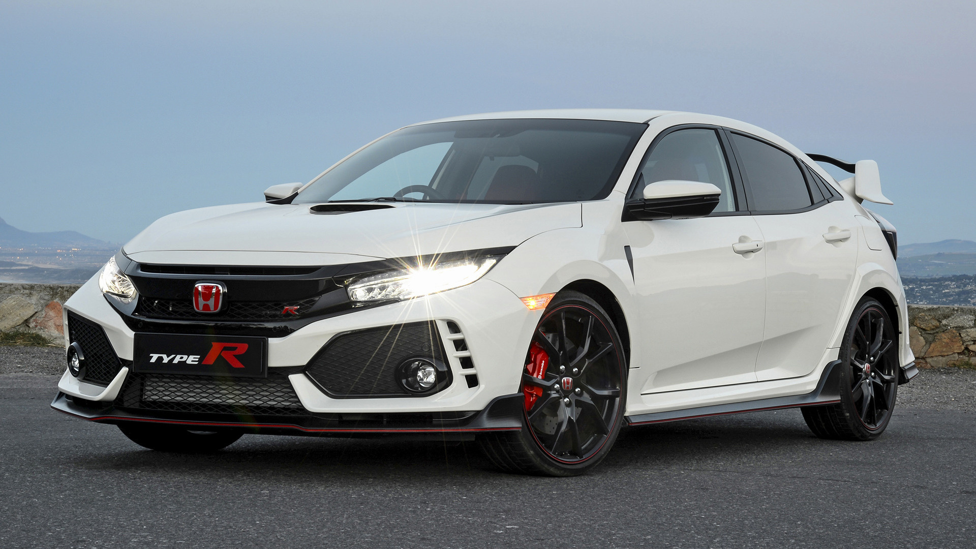 Acura Type R >> 2018 Honda Civic Type R (ZA) - Wallpapers and HD Images | Car Pixel