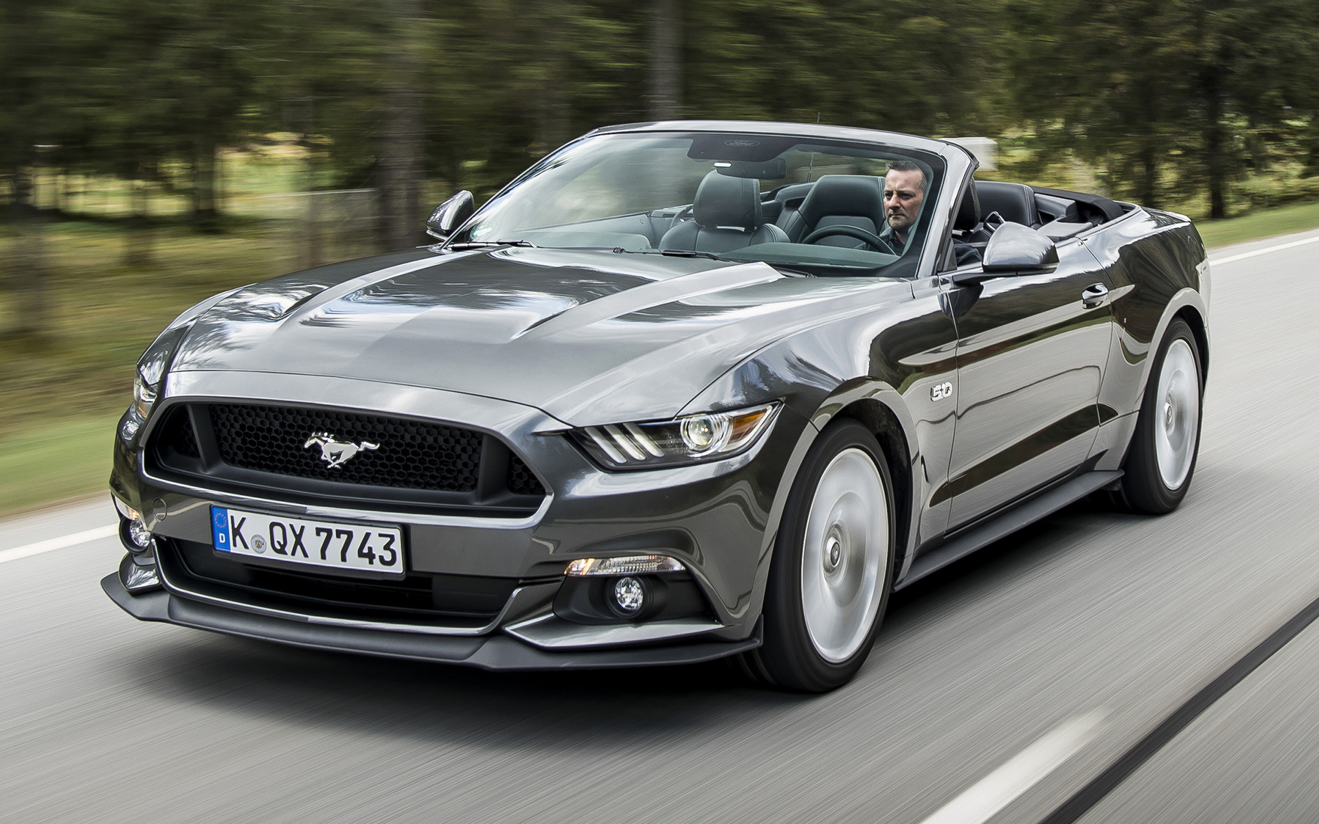 Ford Mustang GT Convertible (2015) EU Wallpapers and HD ...