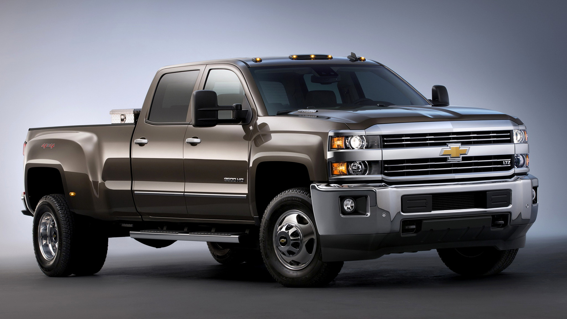 Chevrolet Silverado 3500 HD LTZ Crew Cab (2015) Wallpapers ...