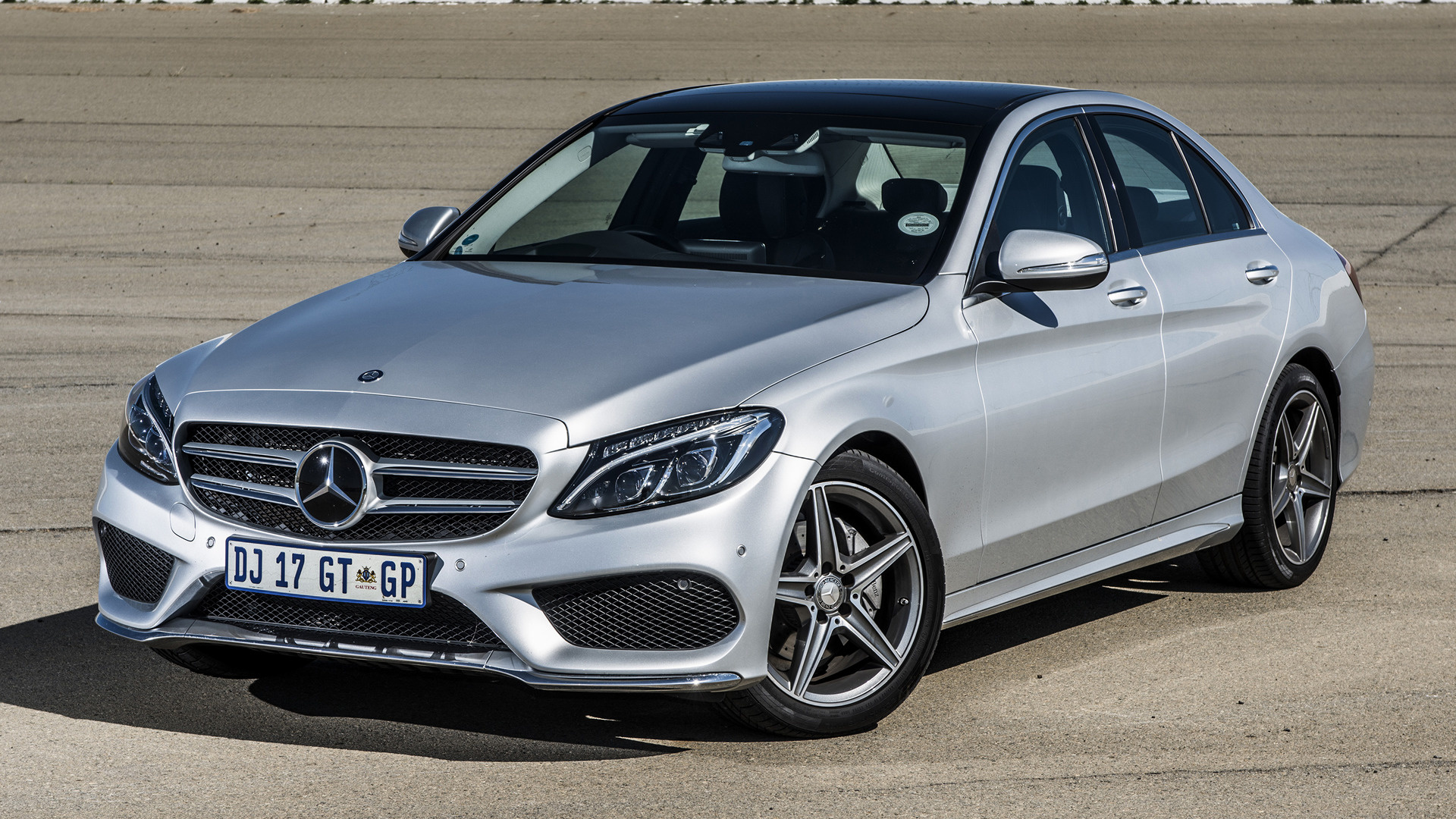 Mercedes benz c class amg line 2015 za wallpapers and hd for Mercedes benz sedan line